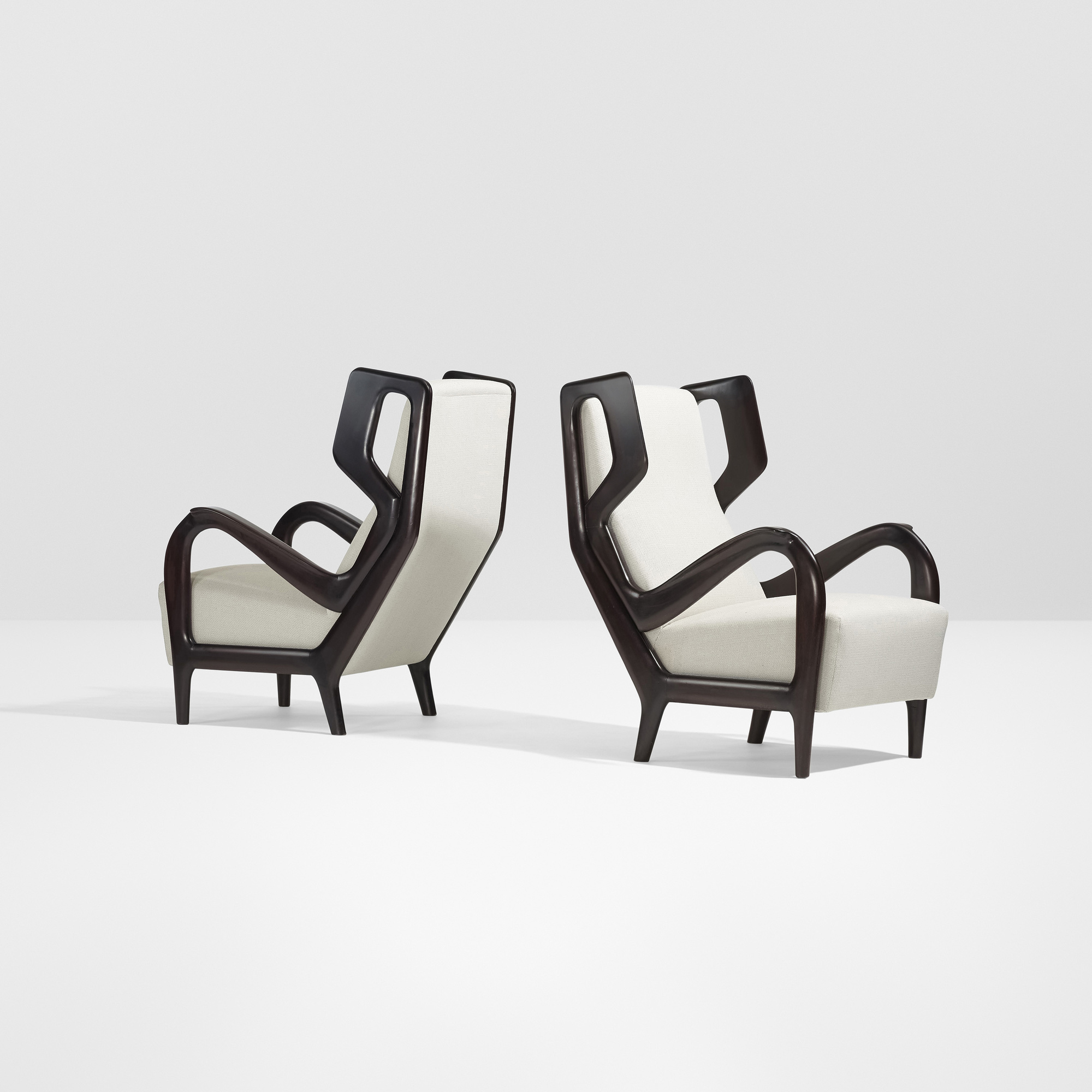 Bon ... 2: Gio Ponti / Rare Lounge Chairs, Pair (2 Of 4)