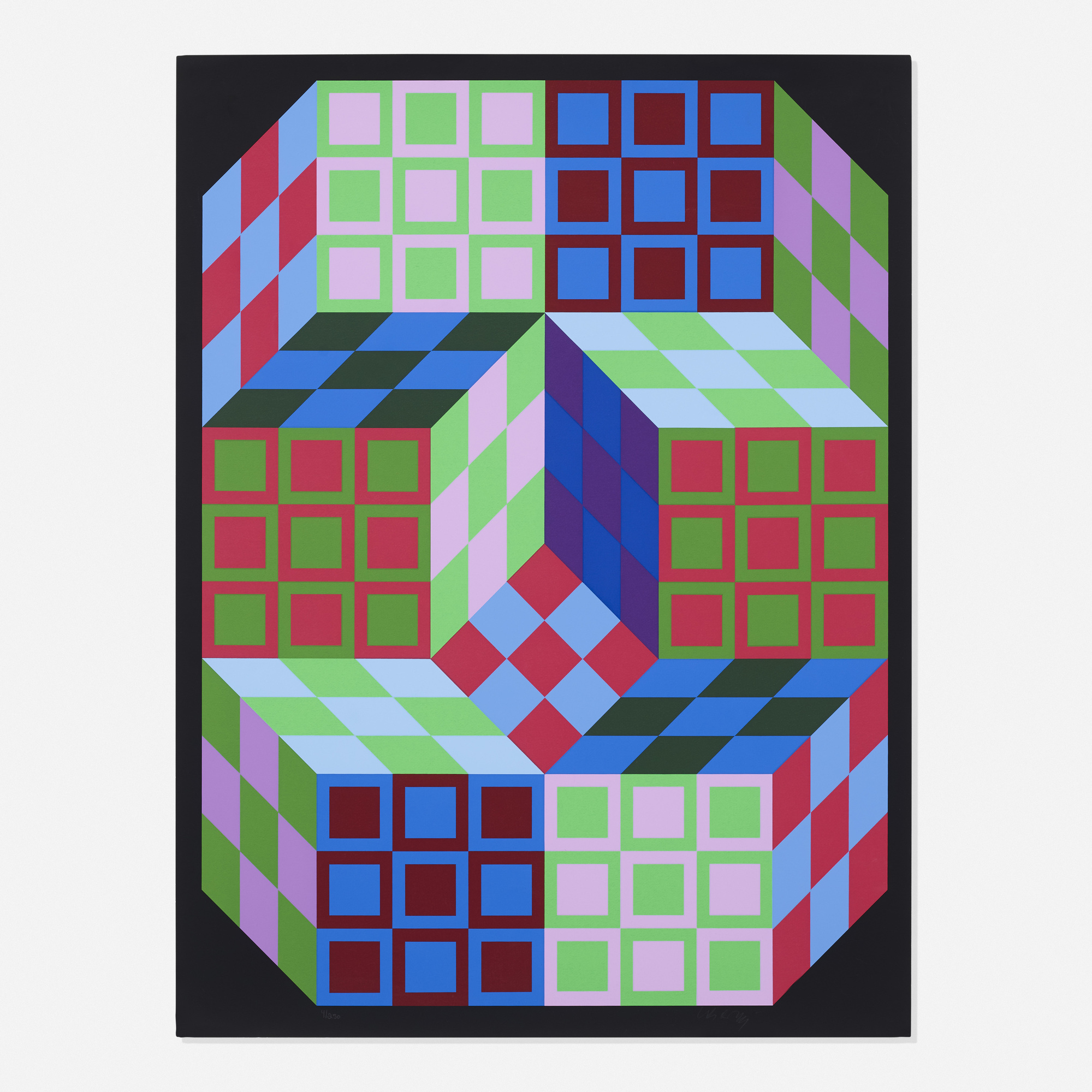 301: Victor Vasarely / Untitled (1 of 1)