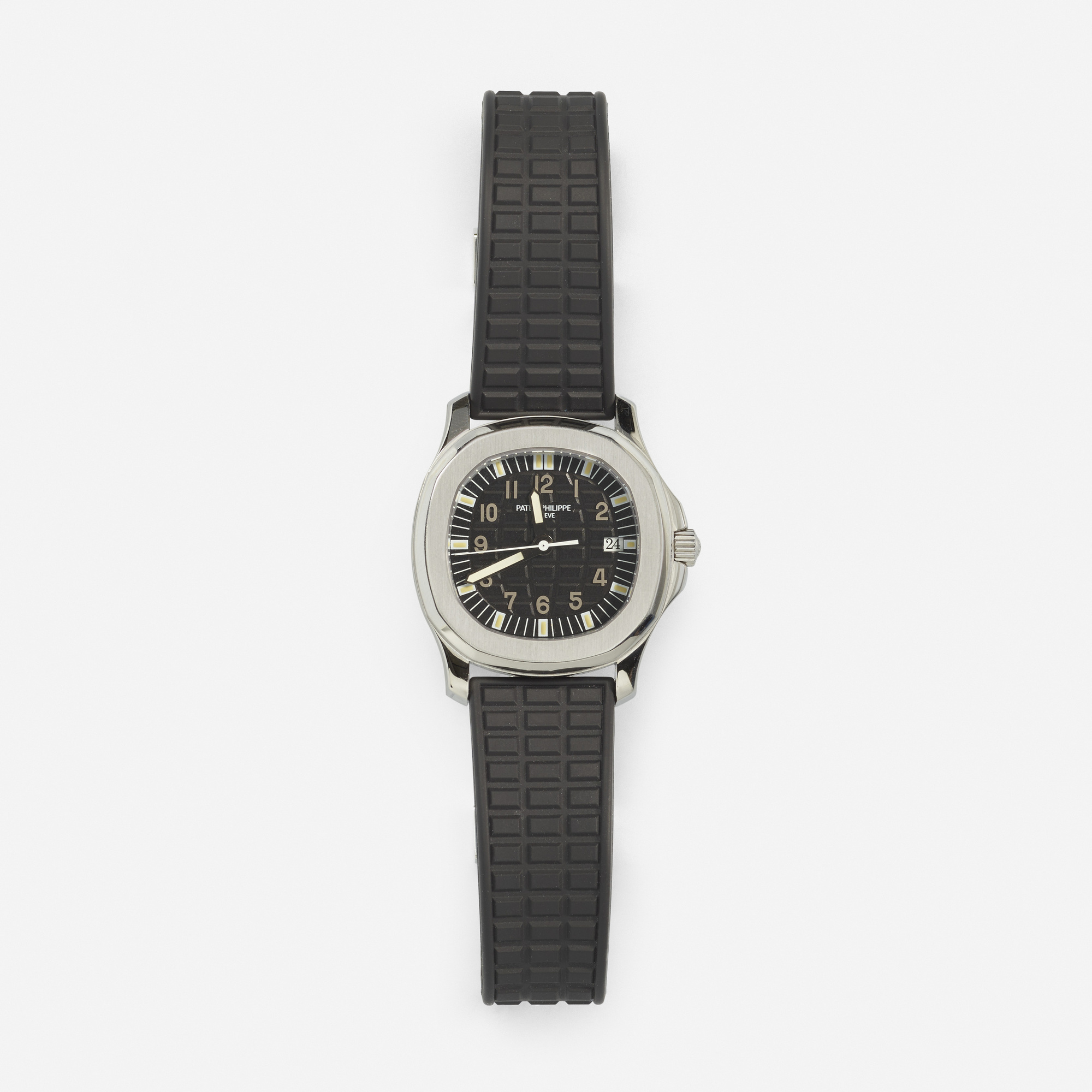 302: Patek Philippe / A steel and rubber Aquanaut watch (1 of 1)