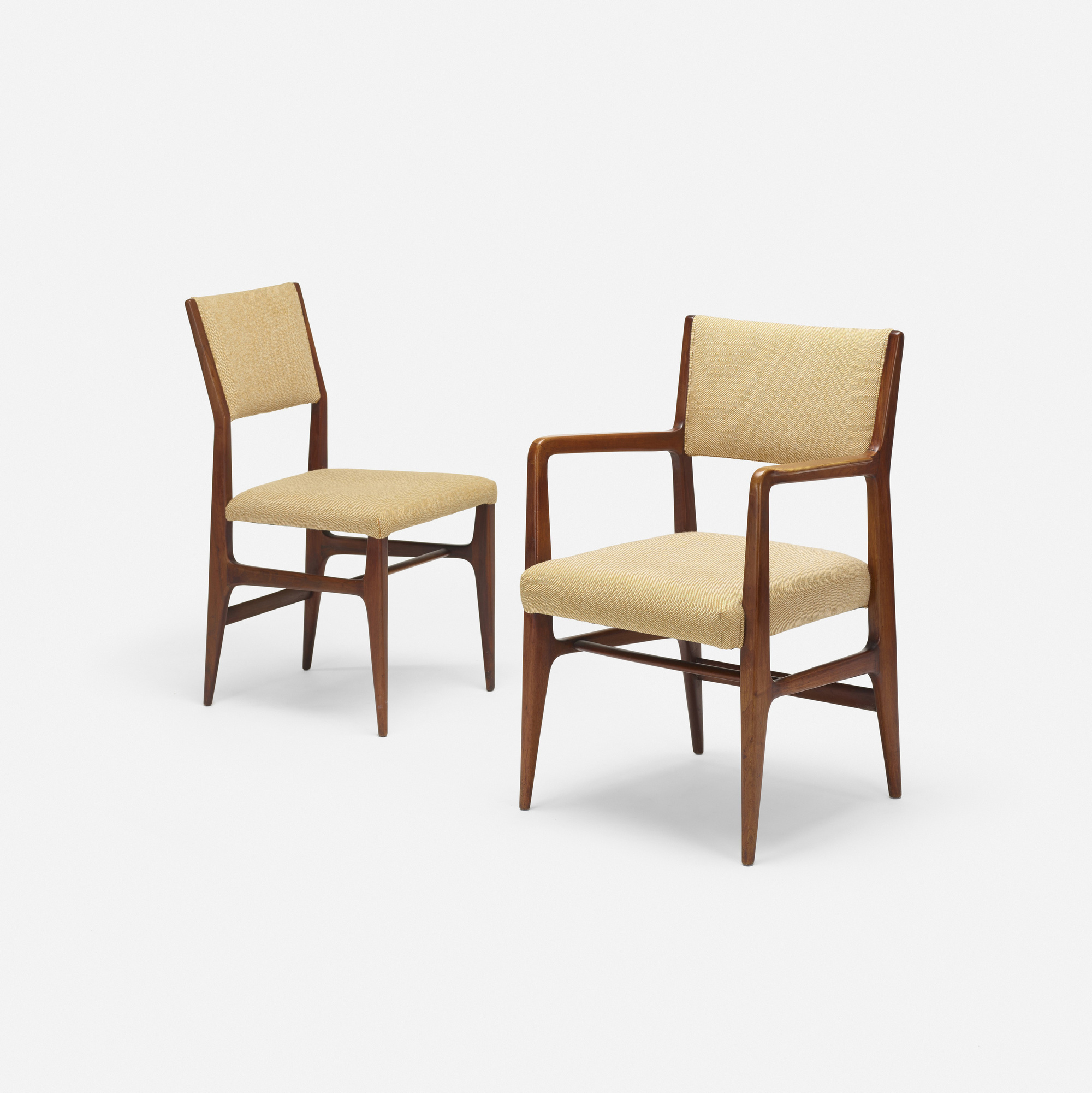 302: Gio Ponti / dining chairs, set of six (4 of 4)