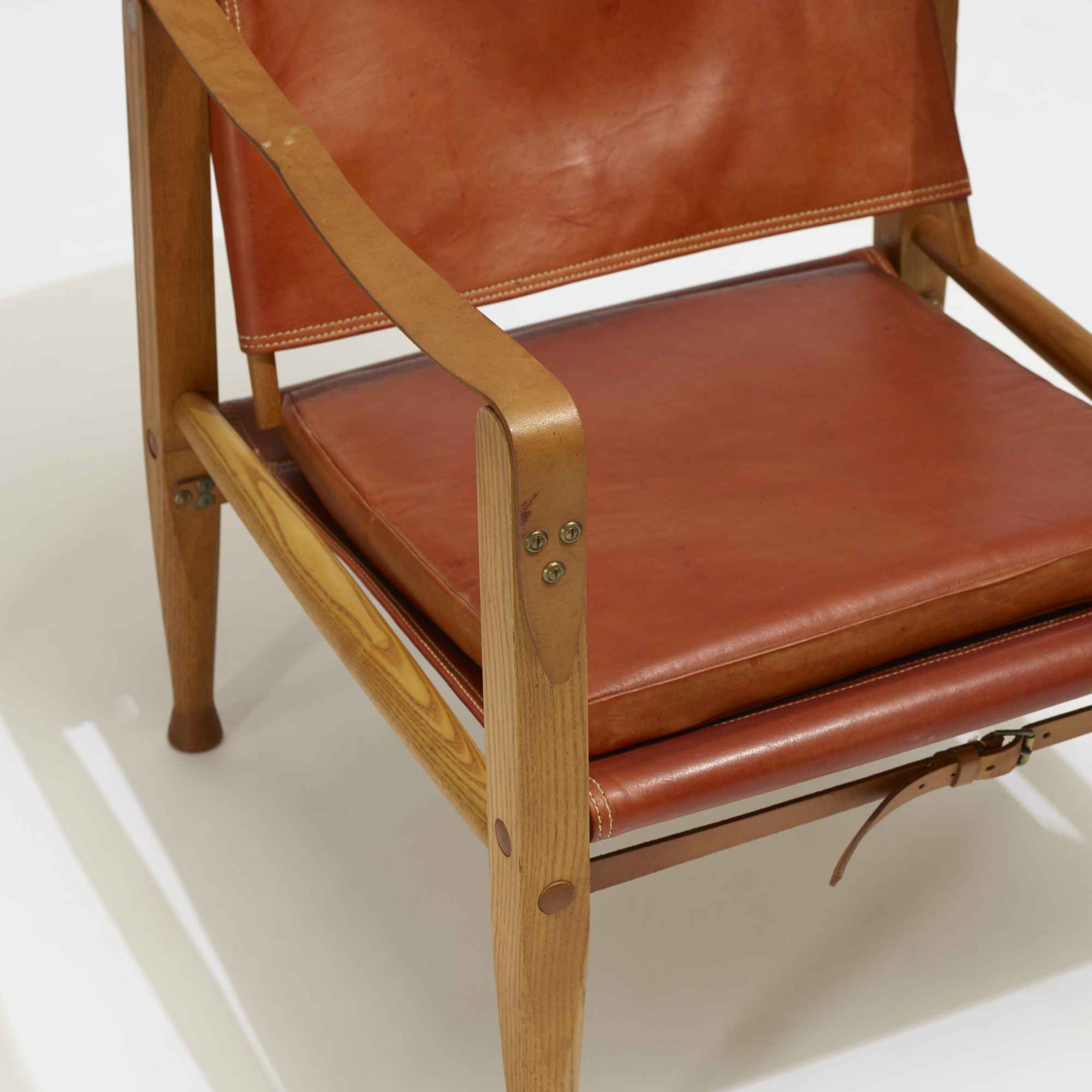 303: Kaare Klint / Safari chairs, pair (3 of 3)