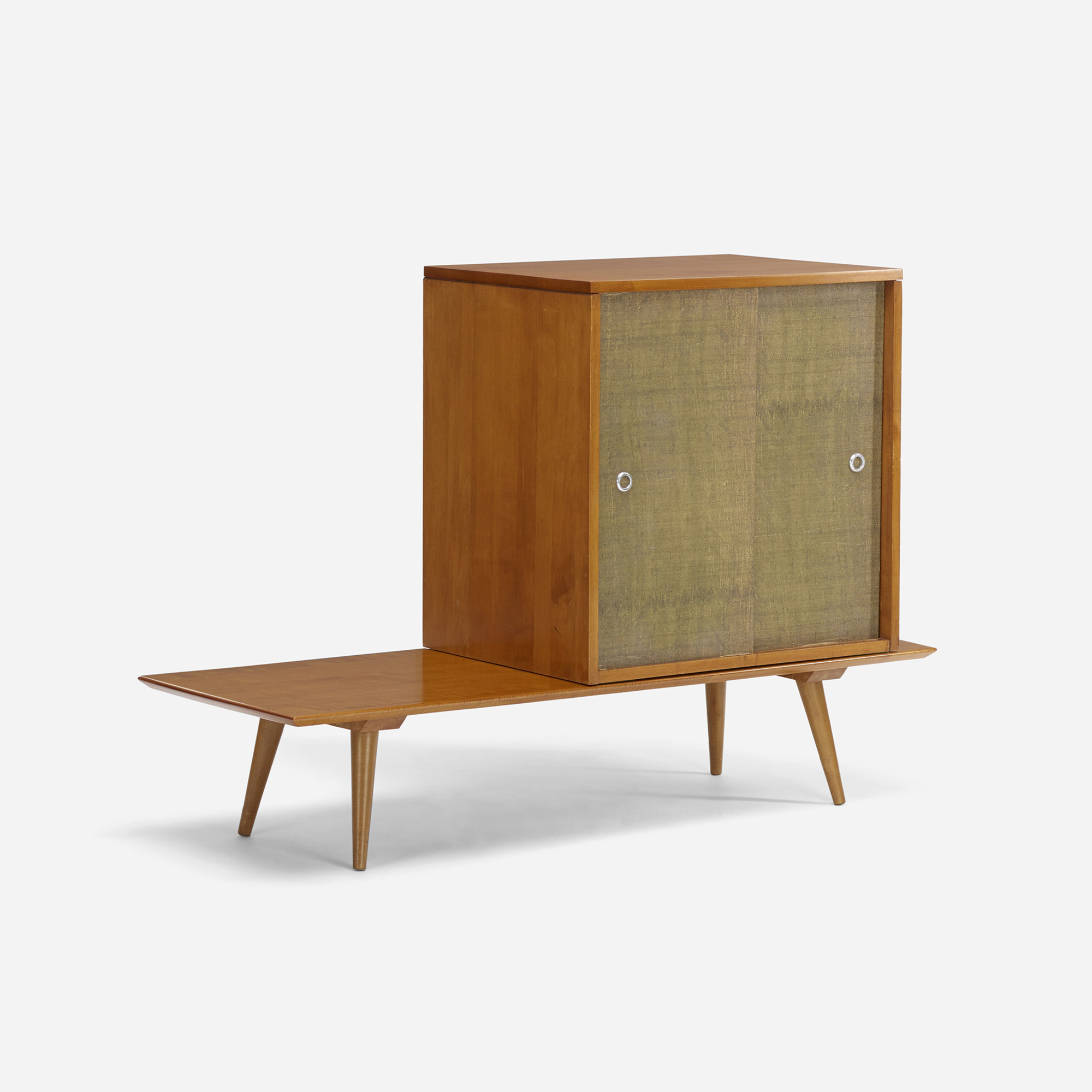 Elegant 304: Paul McCobb / Planner Group Cabinet And Table (1 Of 3)