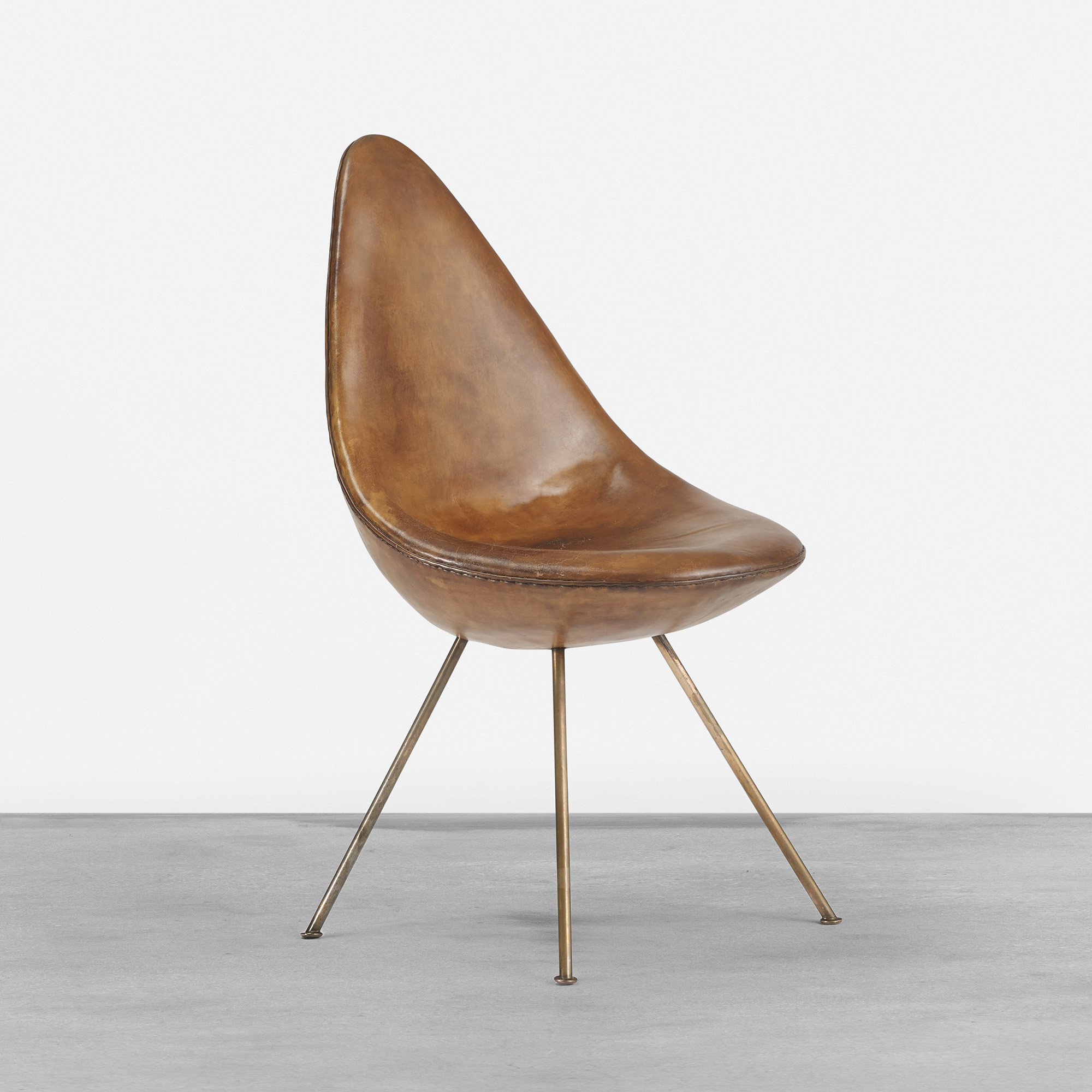 Arne jacobsen drop chair - 304 Arne Jacobsen Drop Chair From The Sas Royal Hotel 1 Of 4