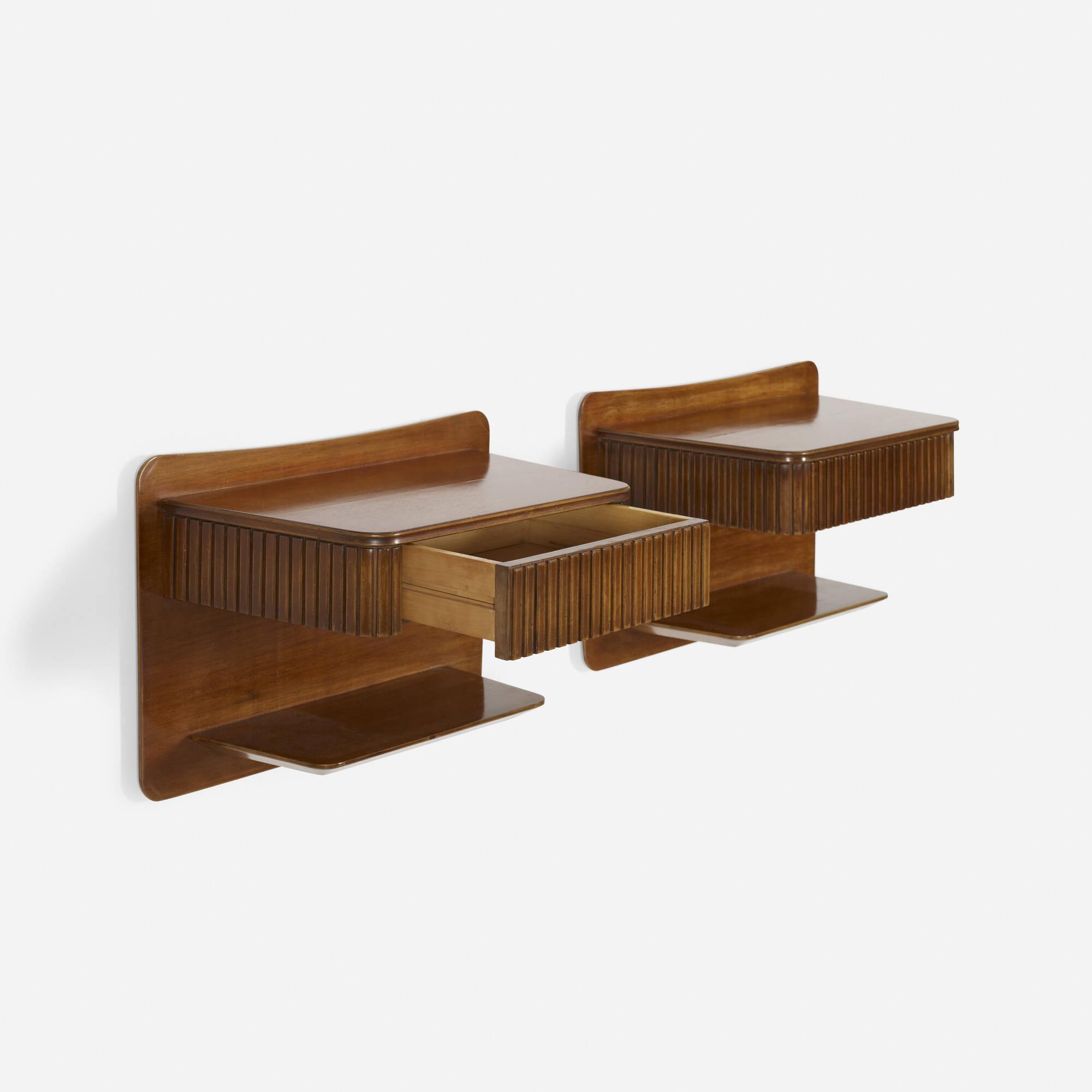 304: Osvaldo Borsani / nightstands, pair (1 of 2)