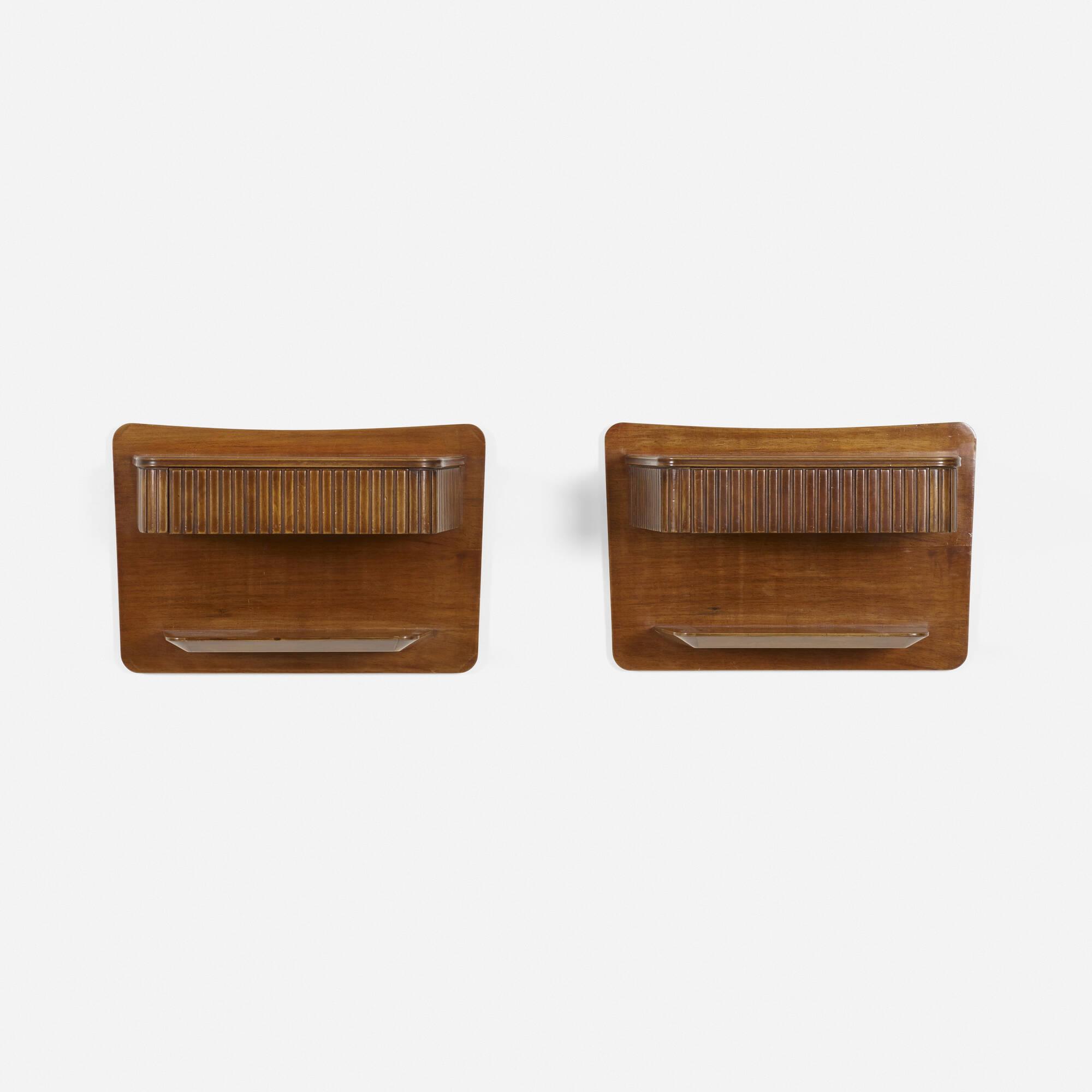 304: Osvaldo Borsani / nightstands, pair (2 of 2)