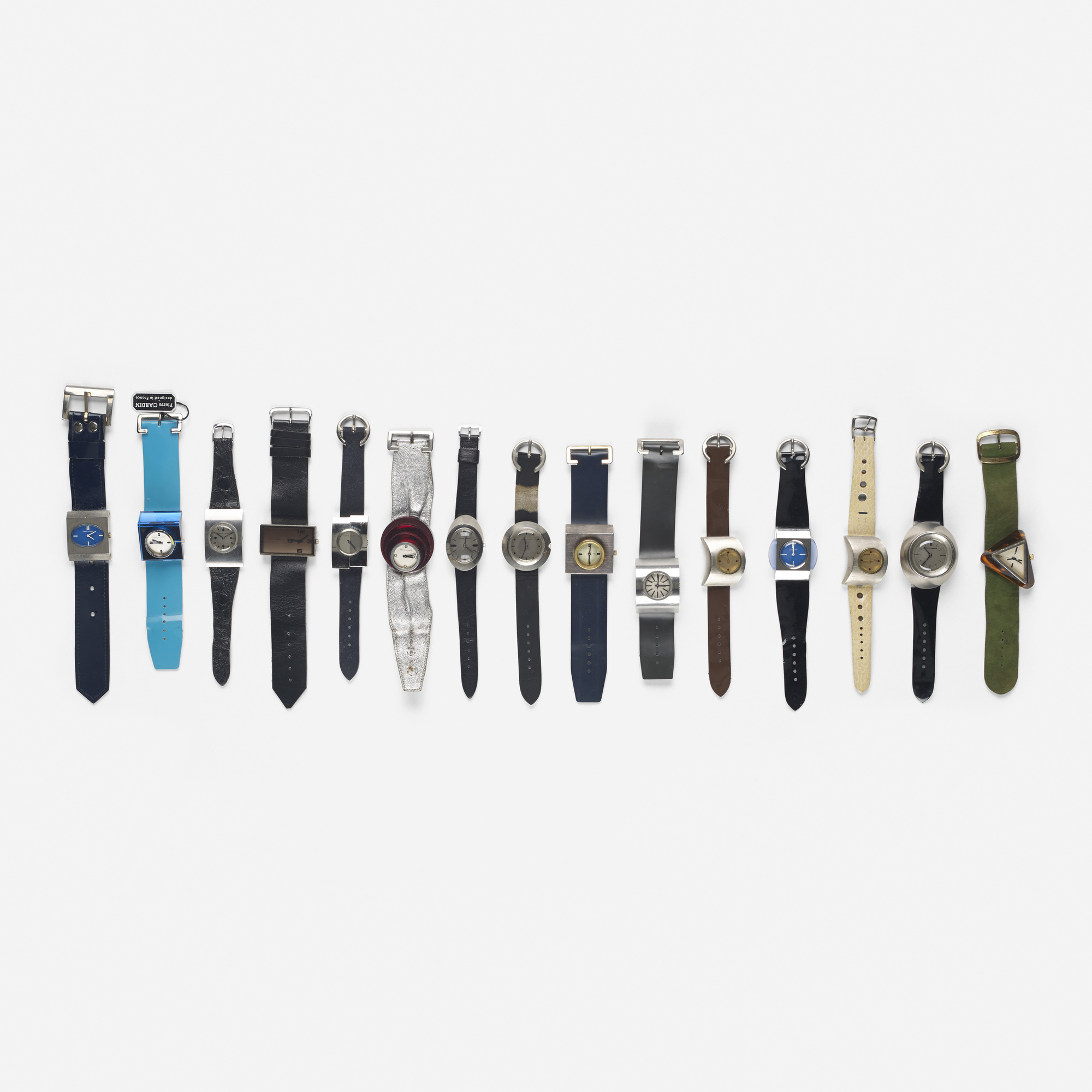 306: Pierre Cardin / collection of fifteen watches from the Espace Watch Line (1 of 2)