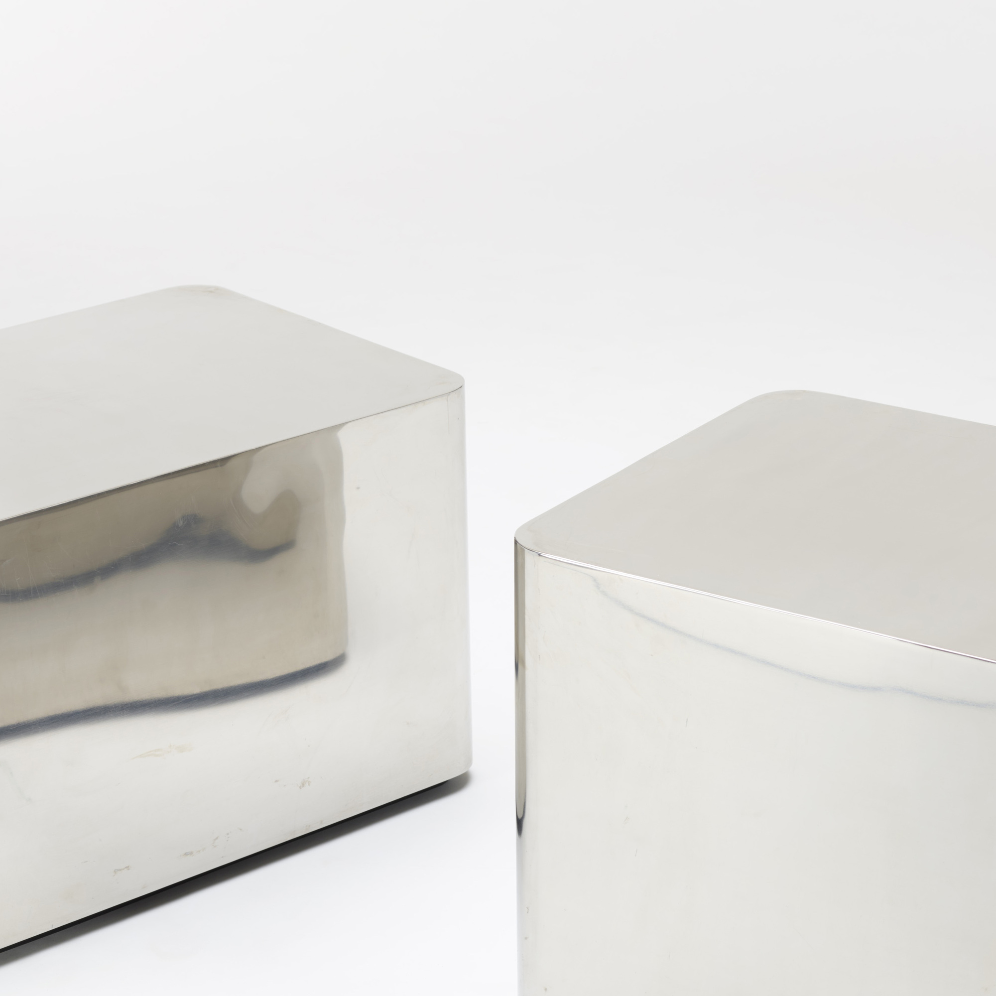 306: Karl Springer / pair of occasional tables (3 of 3)