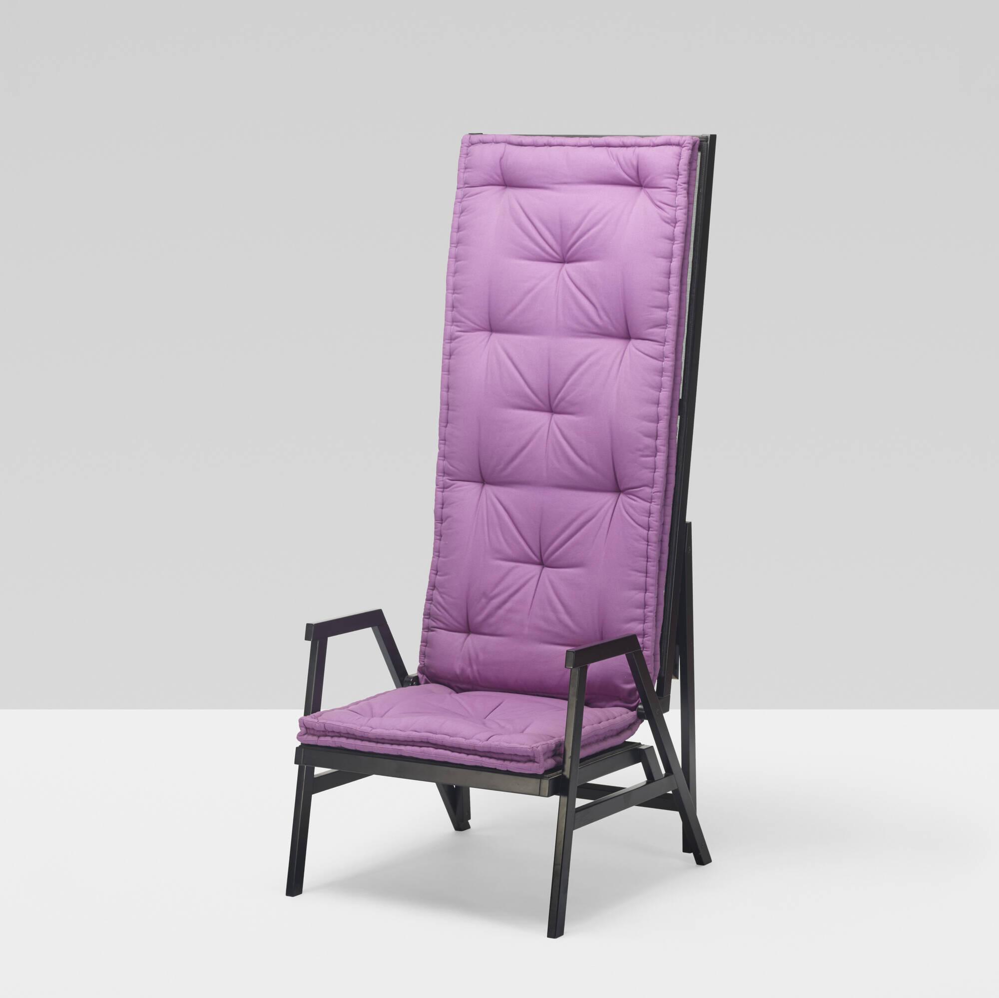 308: Achille Castiglioni / rare Polet lawn chair (1 of 3)