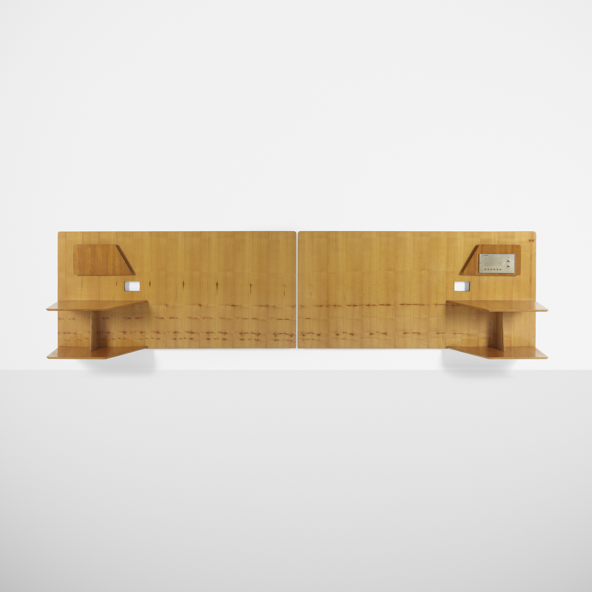 308: Gio Ponti / pair of headboards from Royal Hotel, Naples (1 of 1)