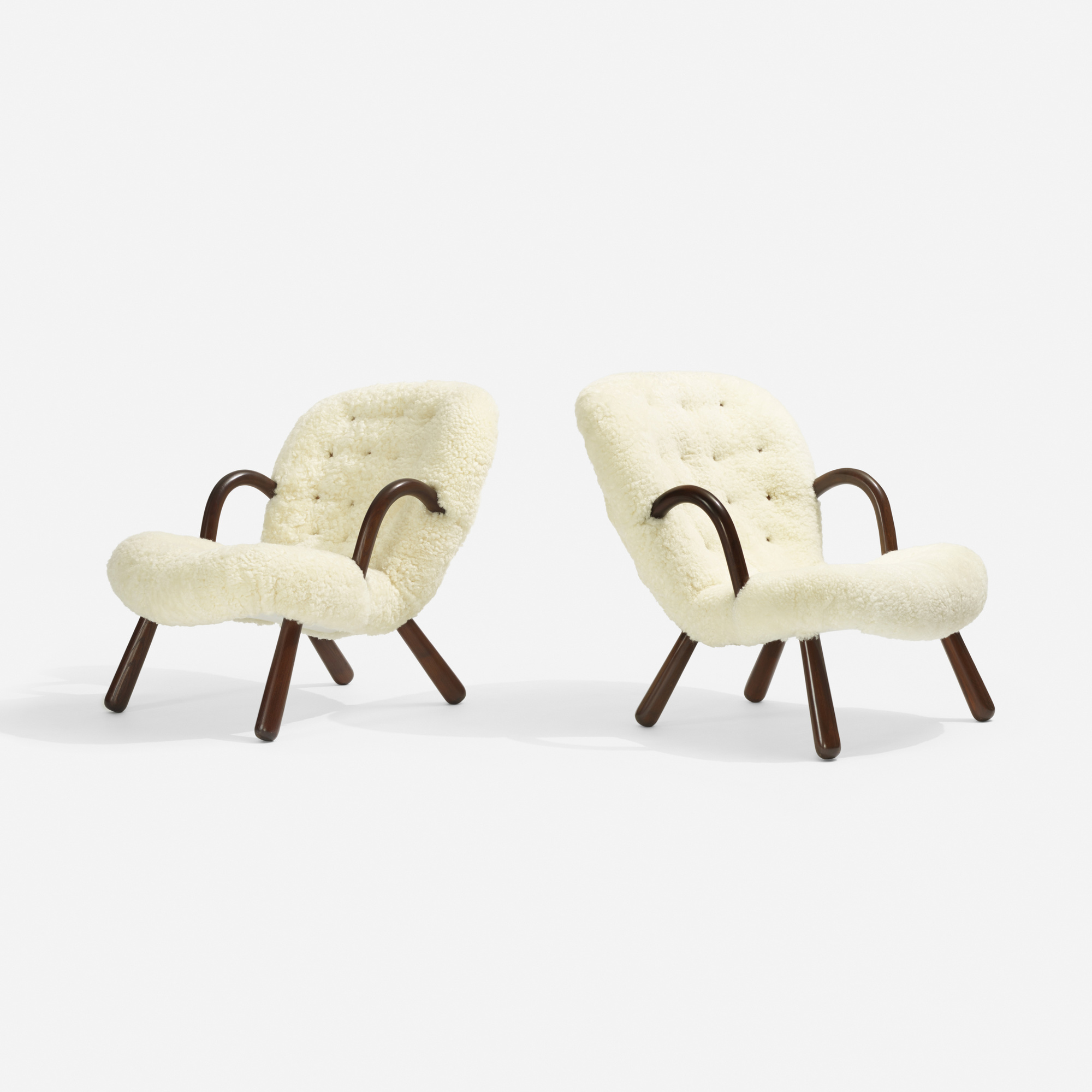 308: Philip Arctander / lounge chairs, pair (1 of 3)