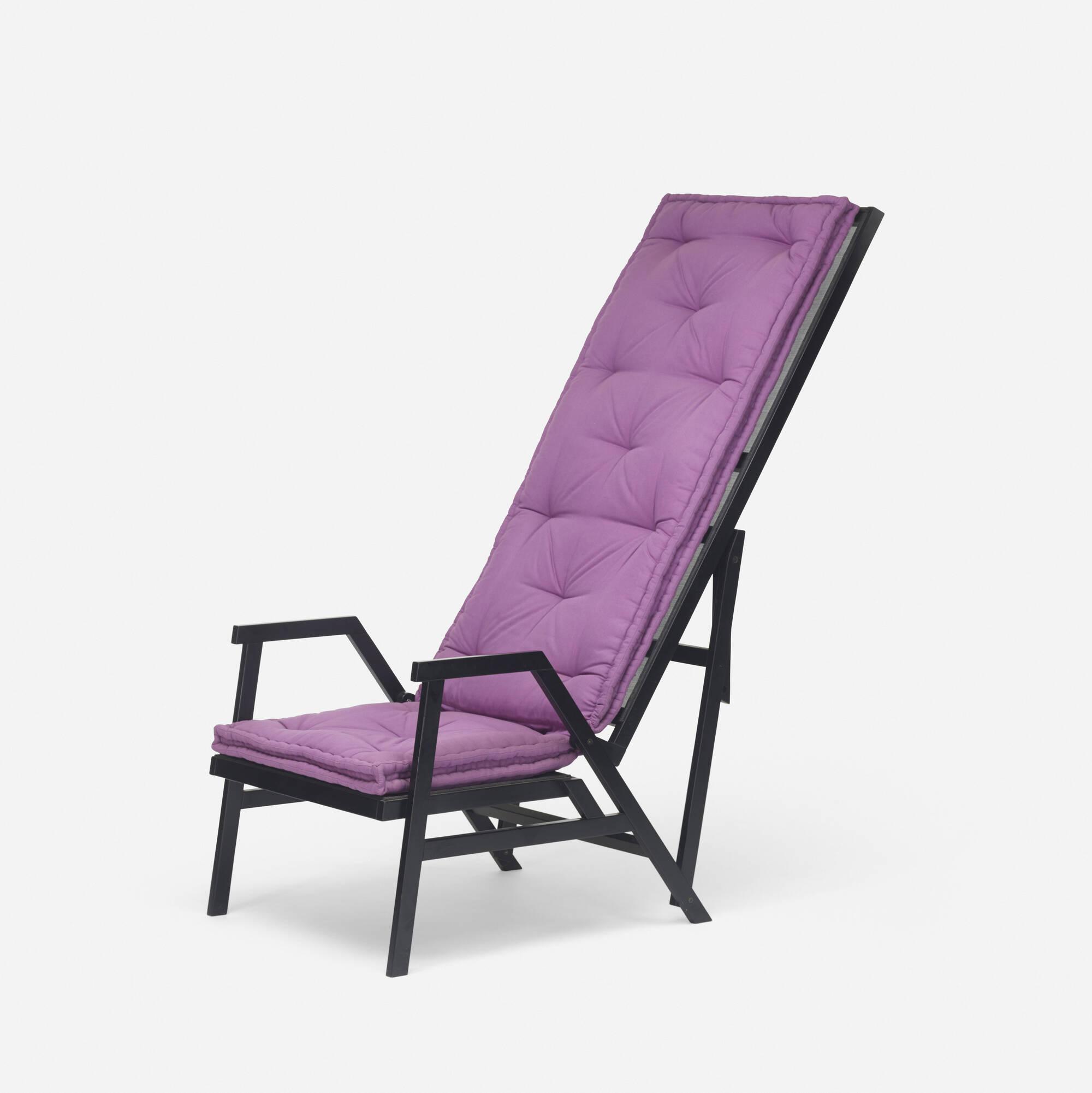 308: Achille Castiglioni / rare Polet lawn chair (2 of 3)