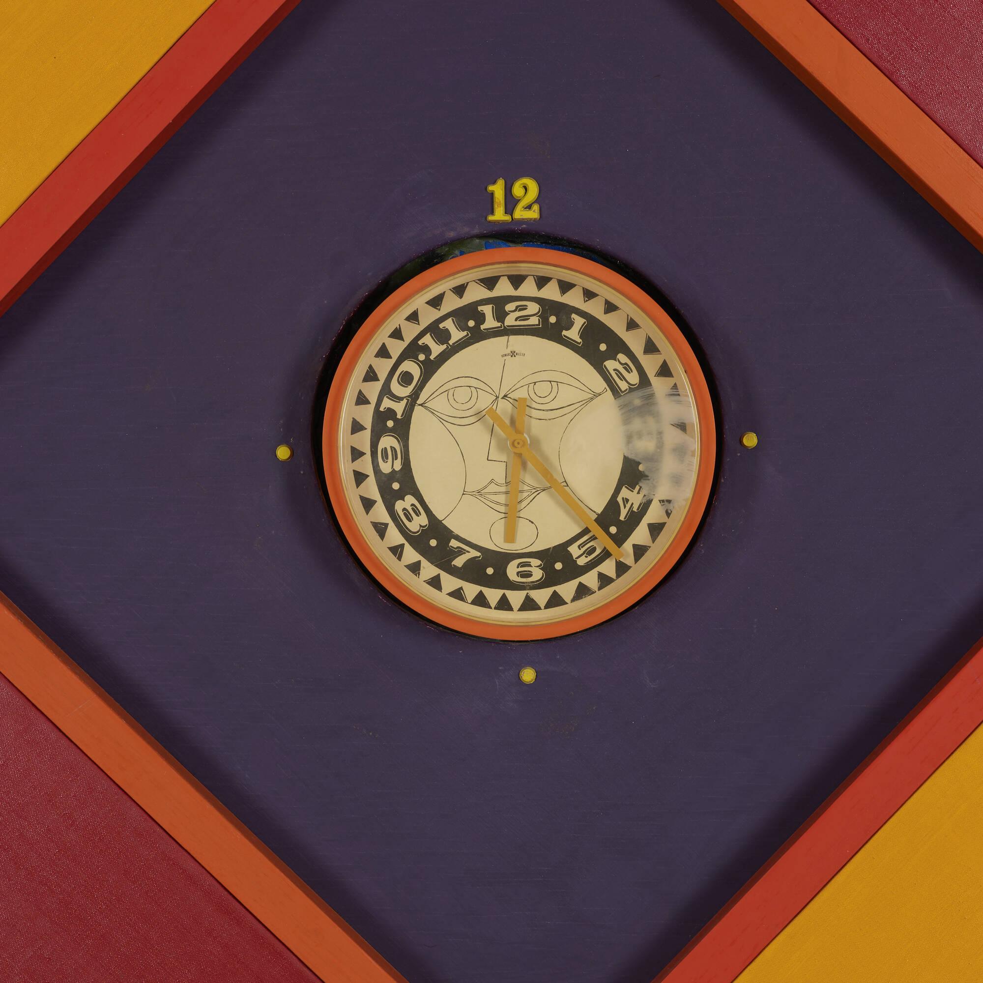 308: Alexander Girard, attribution / monumental wall clock (2 of 3)