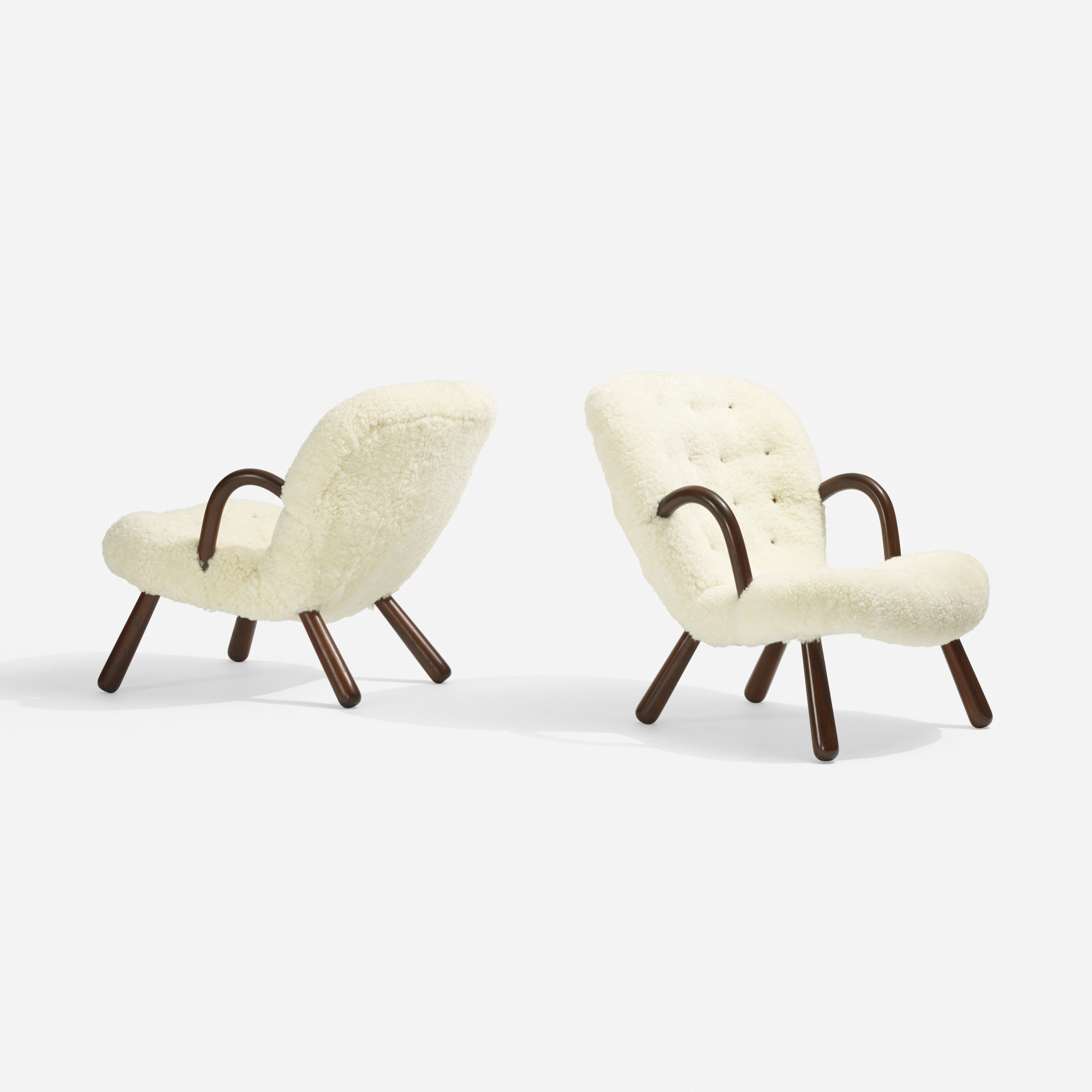 308: Philip Arctander / lounge chairs, pair (2 of 3)