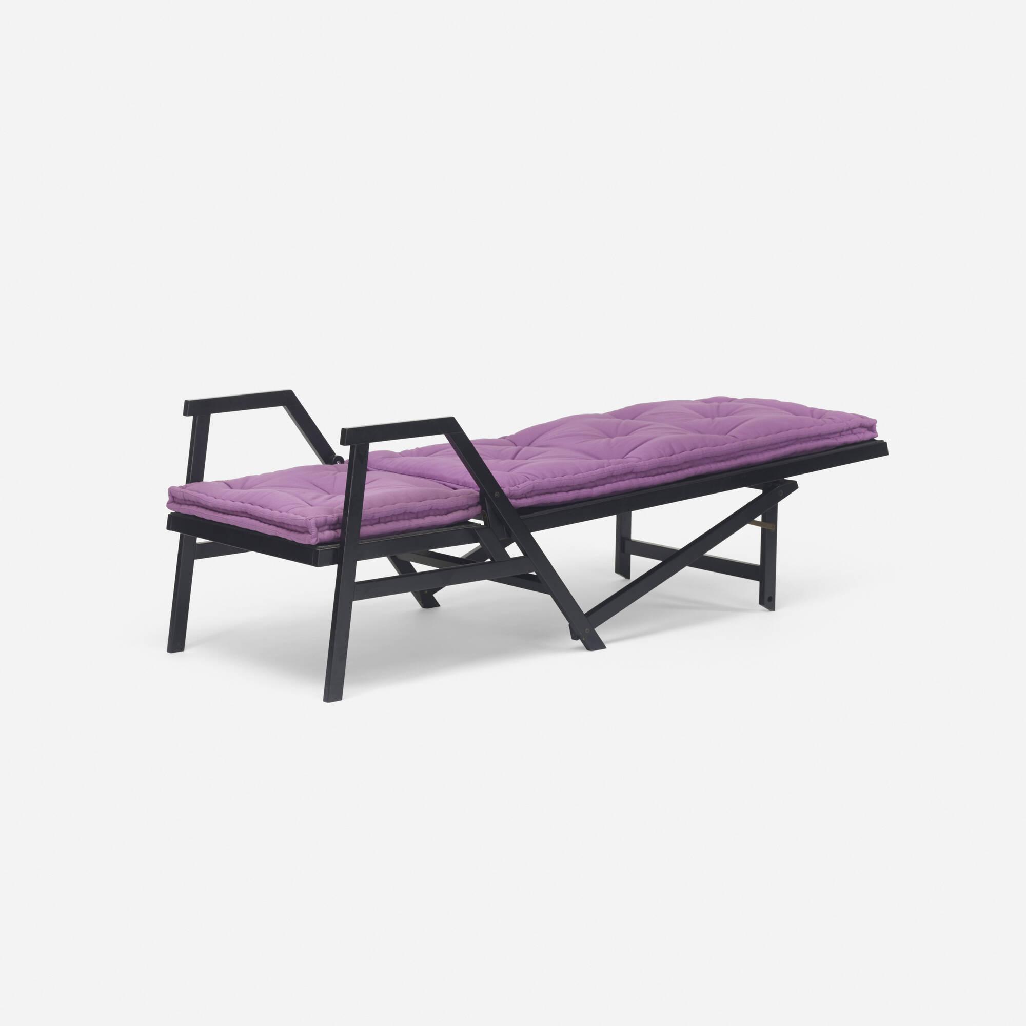 308: Achille Castiglioni / rare Polet lawn chair (3 of 3)