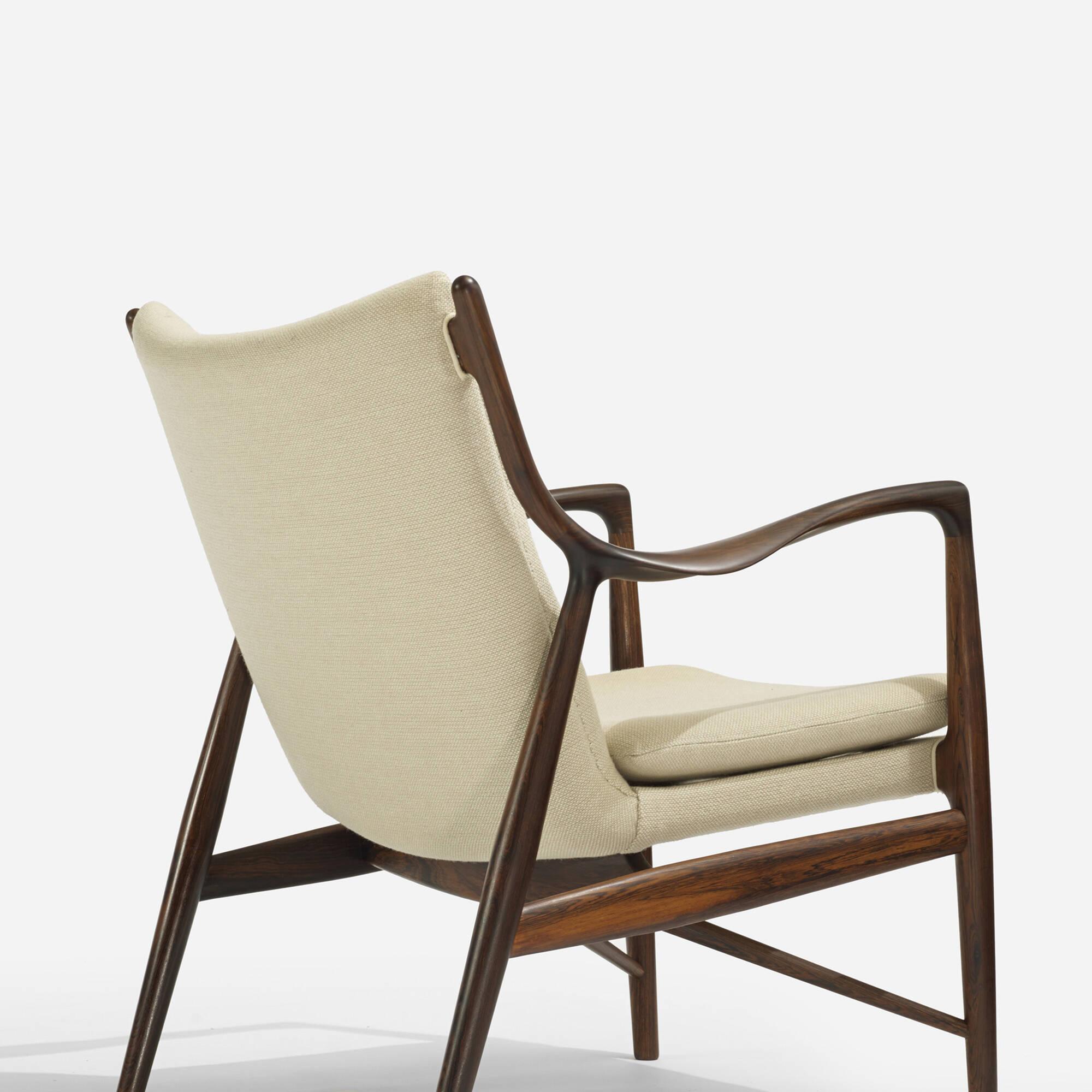 310 Finn Juhl Lounge Chair Model Nv 45