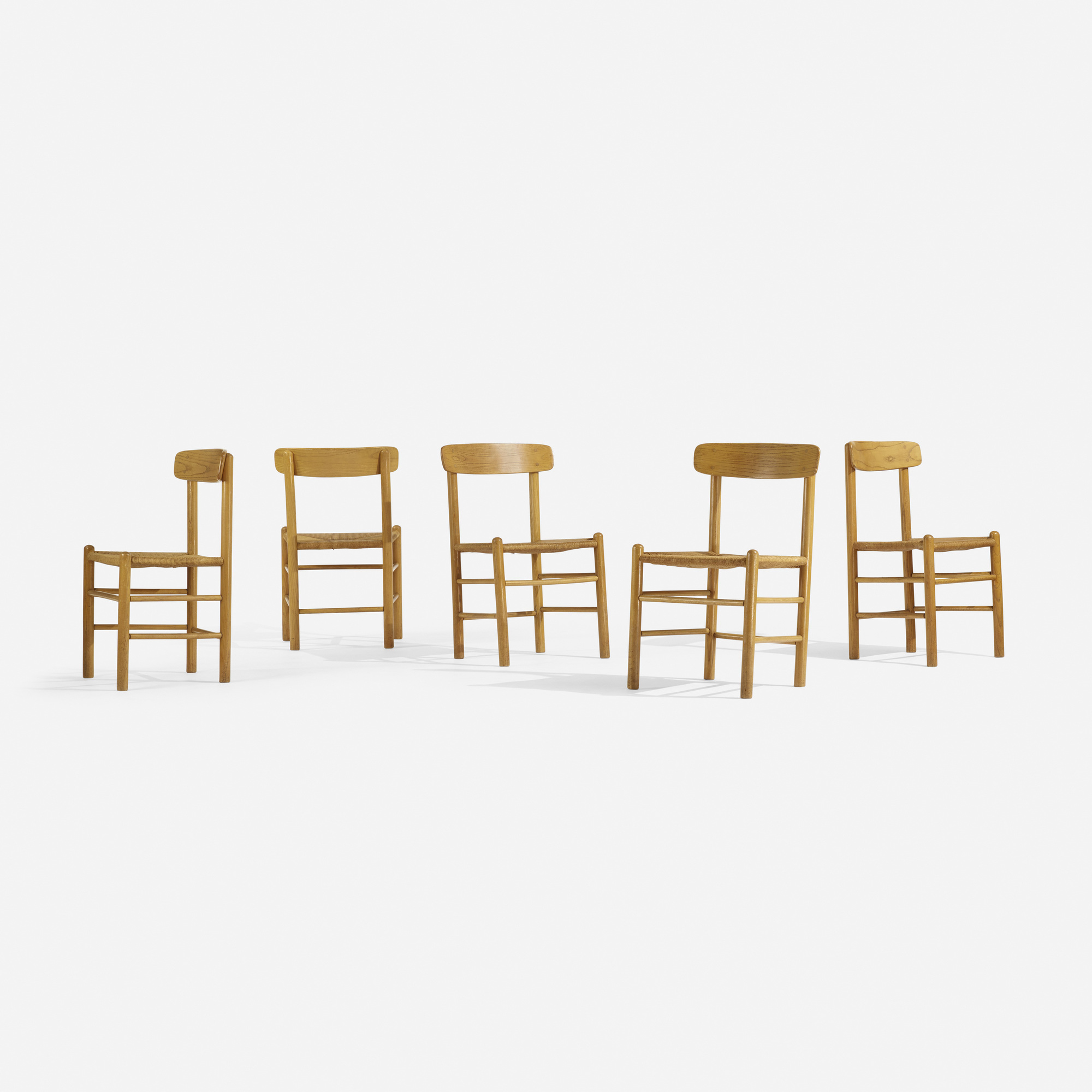 311: Borge Mogensen, attribution / dining chairs, set of ten (2 of 5)
