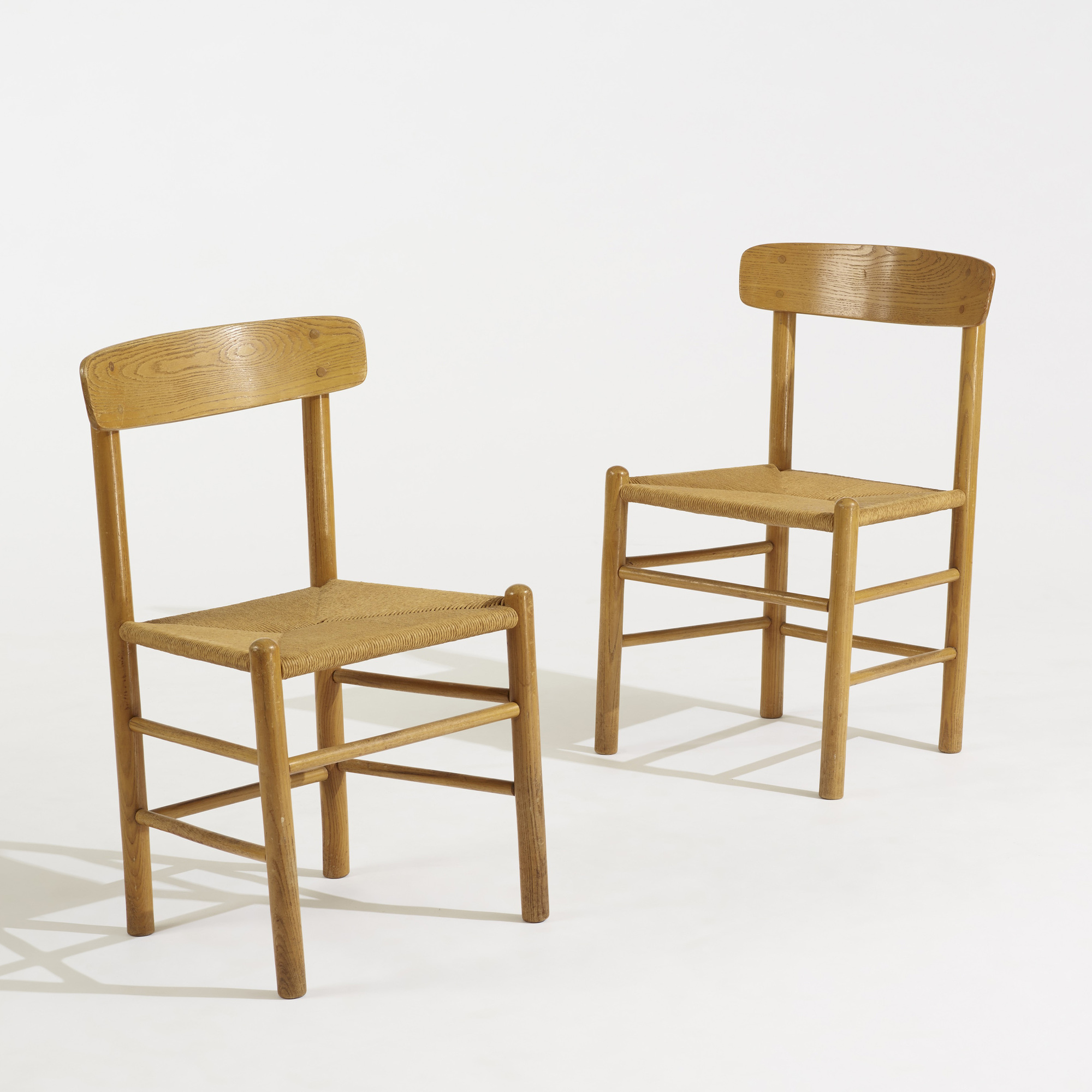 311: Borge Mogensen, attribution / dining chairs, set of ten (4 of 5)