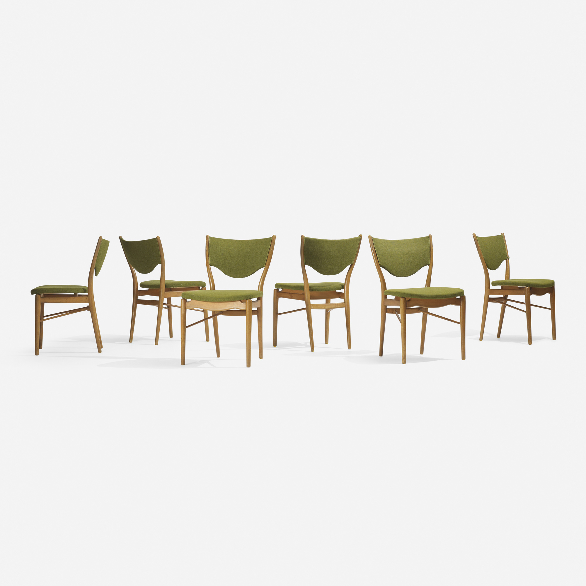 312: Finn Juhl / dining chairs, set of six (1 of 2)