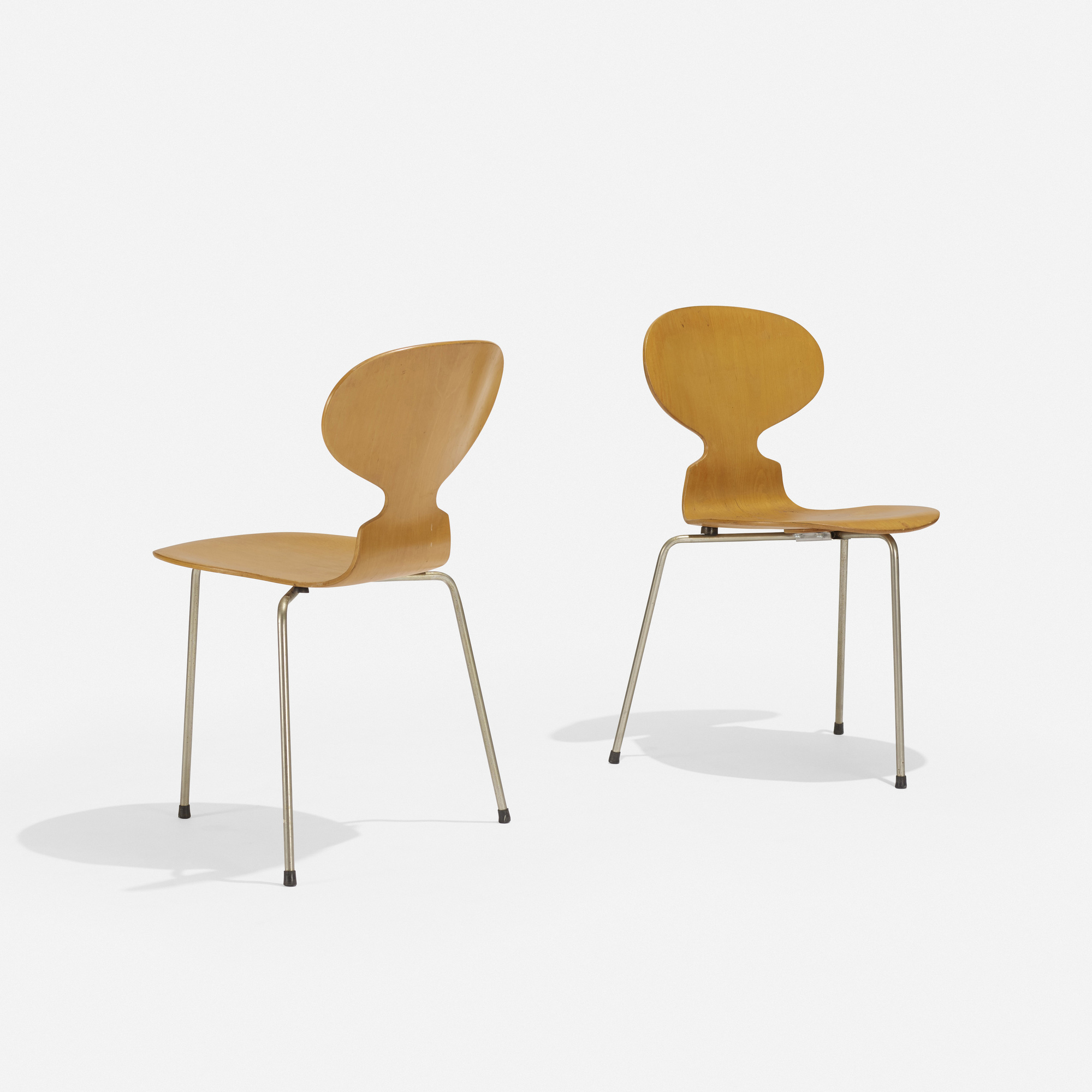 312 Arne Jacobsen Ant Chairs Pair The Boyd Collection Iii