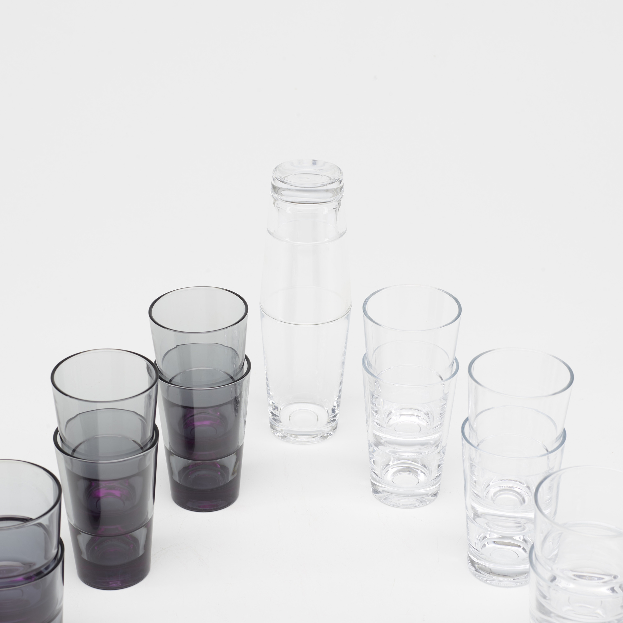 313: Konstantin Grcic / collection of twenty Relations glasses and cocktail shaker (2 of 2)