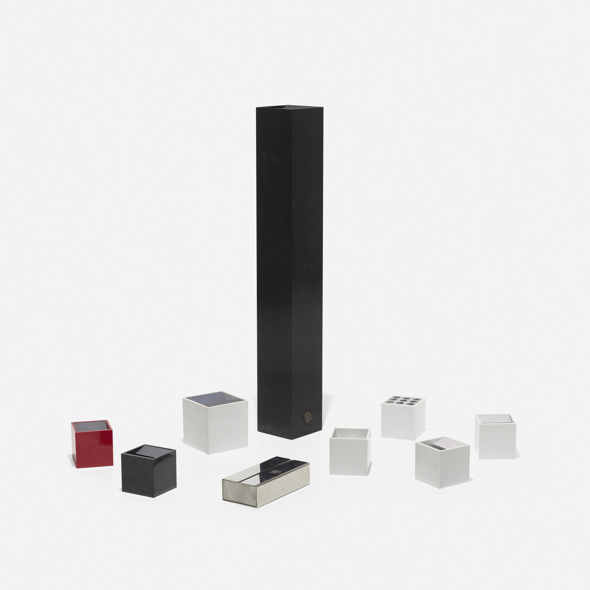 ... 313: Bruno Munari / Collection Of Nine Table Top Accessories (2 Of 2)