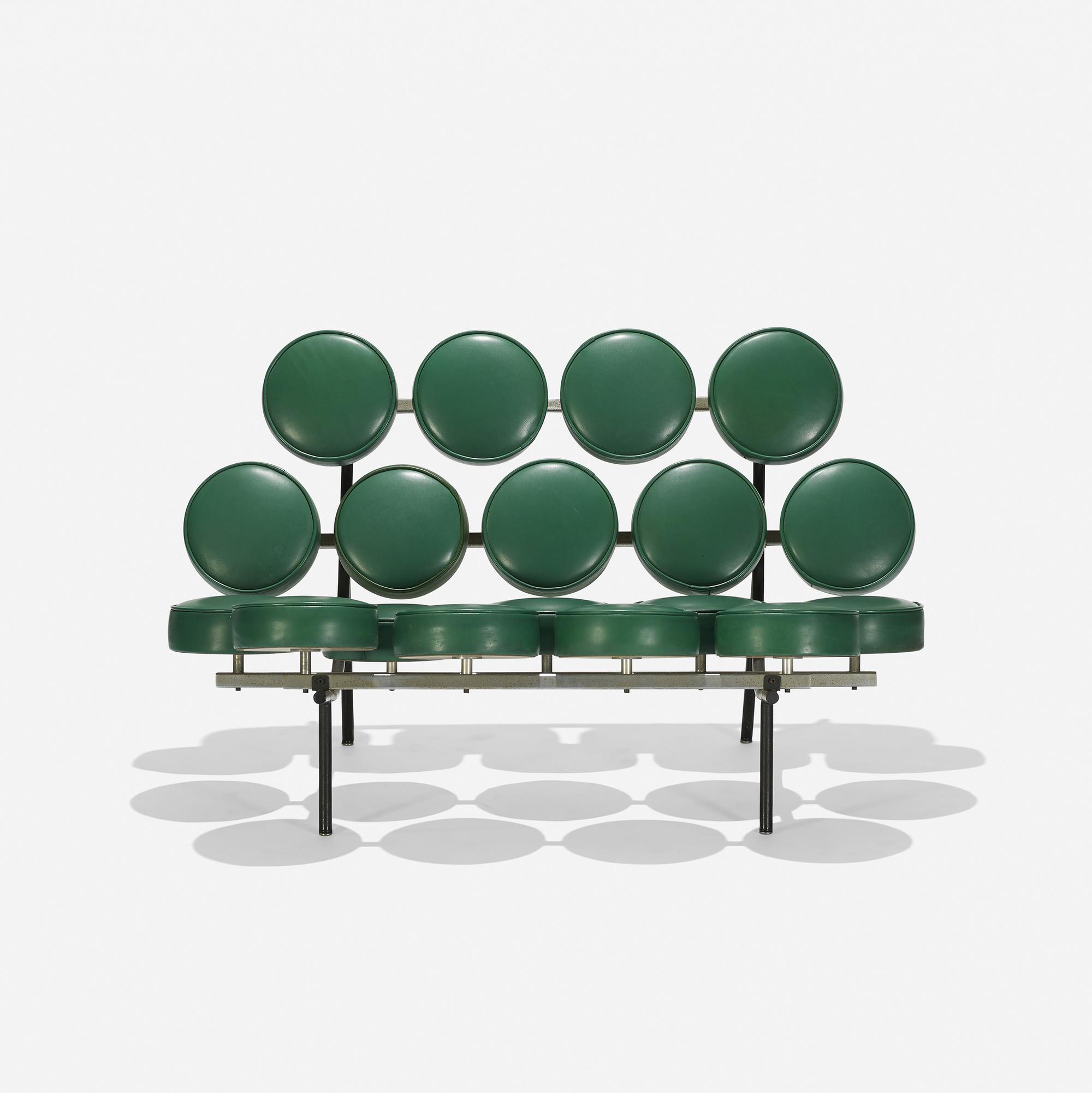 315: George Nelson U0026 Associates / Marshmallow Sofa (1 Of ...