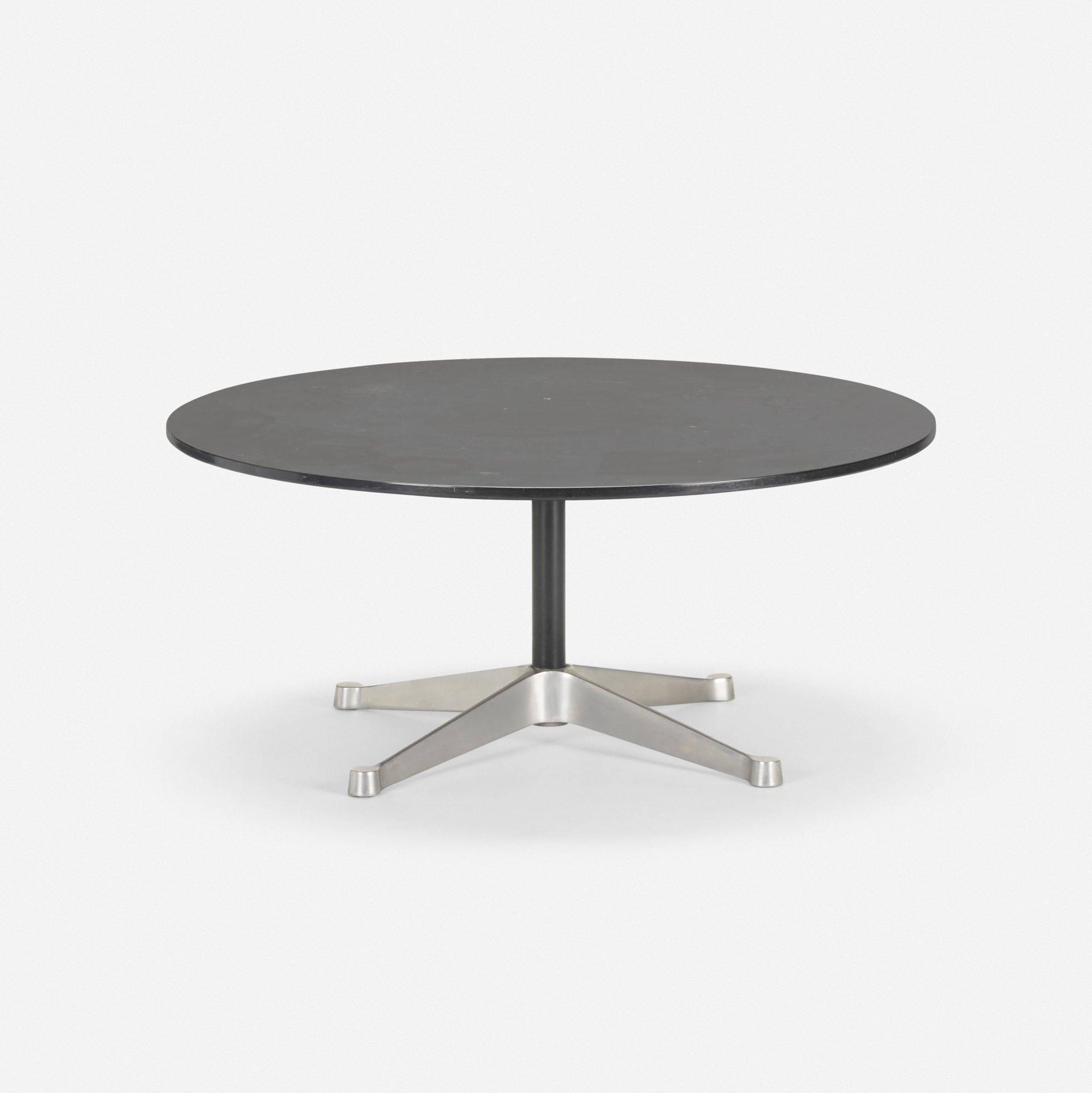 Eames Coffee Table Square: 315: CHARLES AND RAY EAMES, Pre-production Aluminum Group