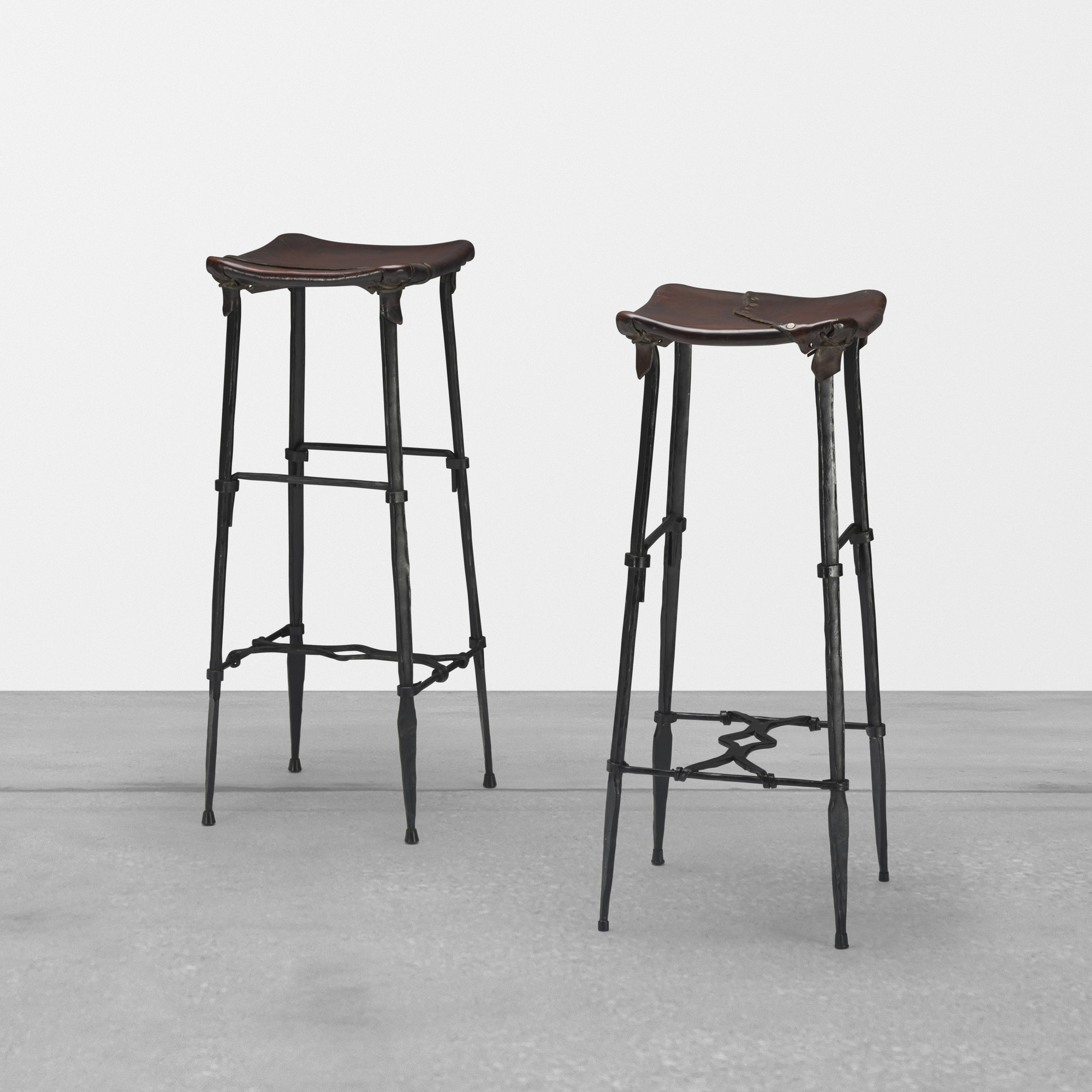 316: Sido and François Thevenin / Ups stools, pair (1 of 2)
