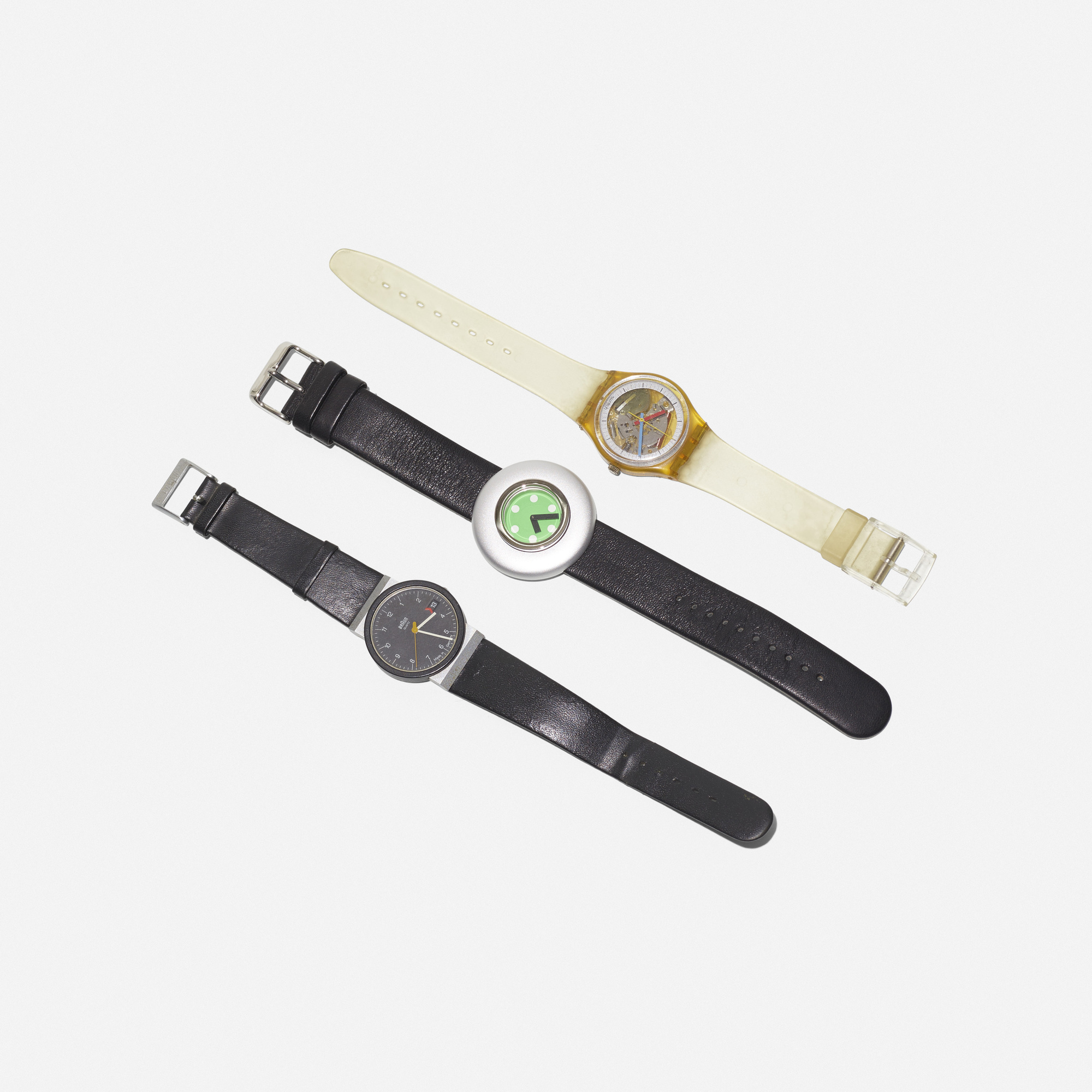 317: Various Artists / collection of three wrist watches (1 of 1)
