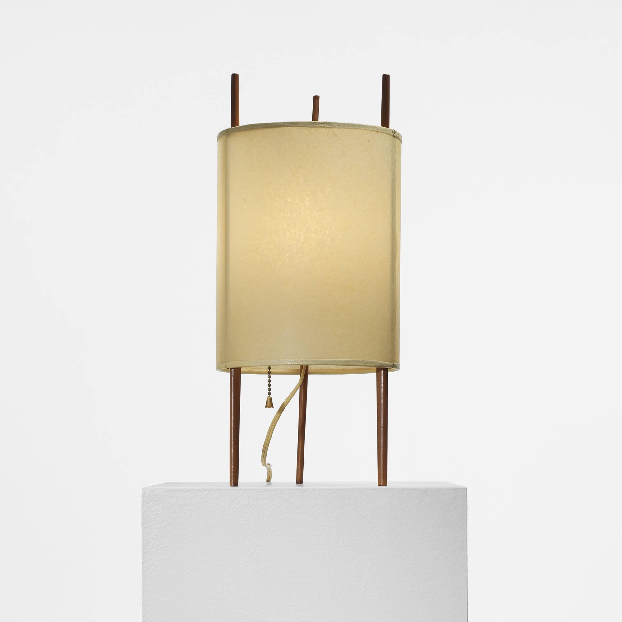 318: ISAMU NOGUCHI, table lamp