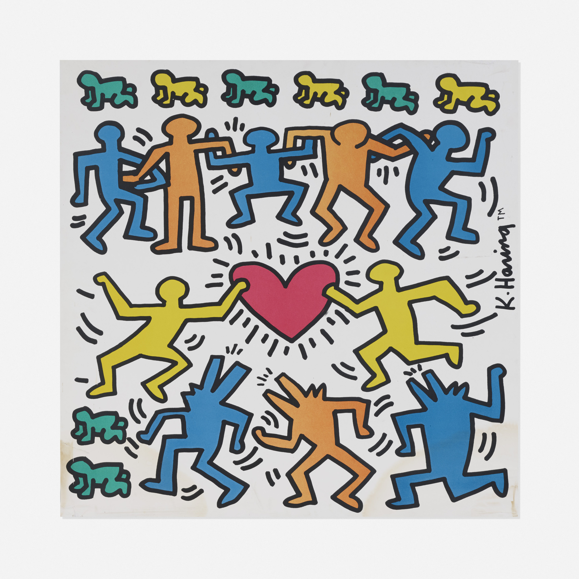 318: Keith Haring / Untitled poster (1 of 1)