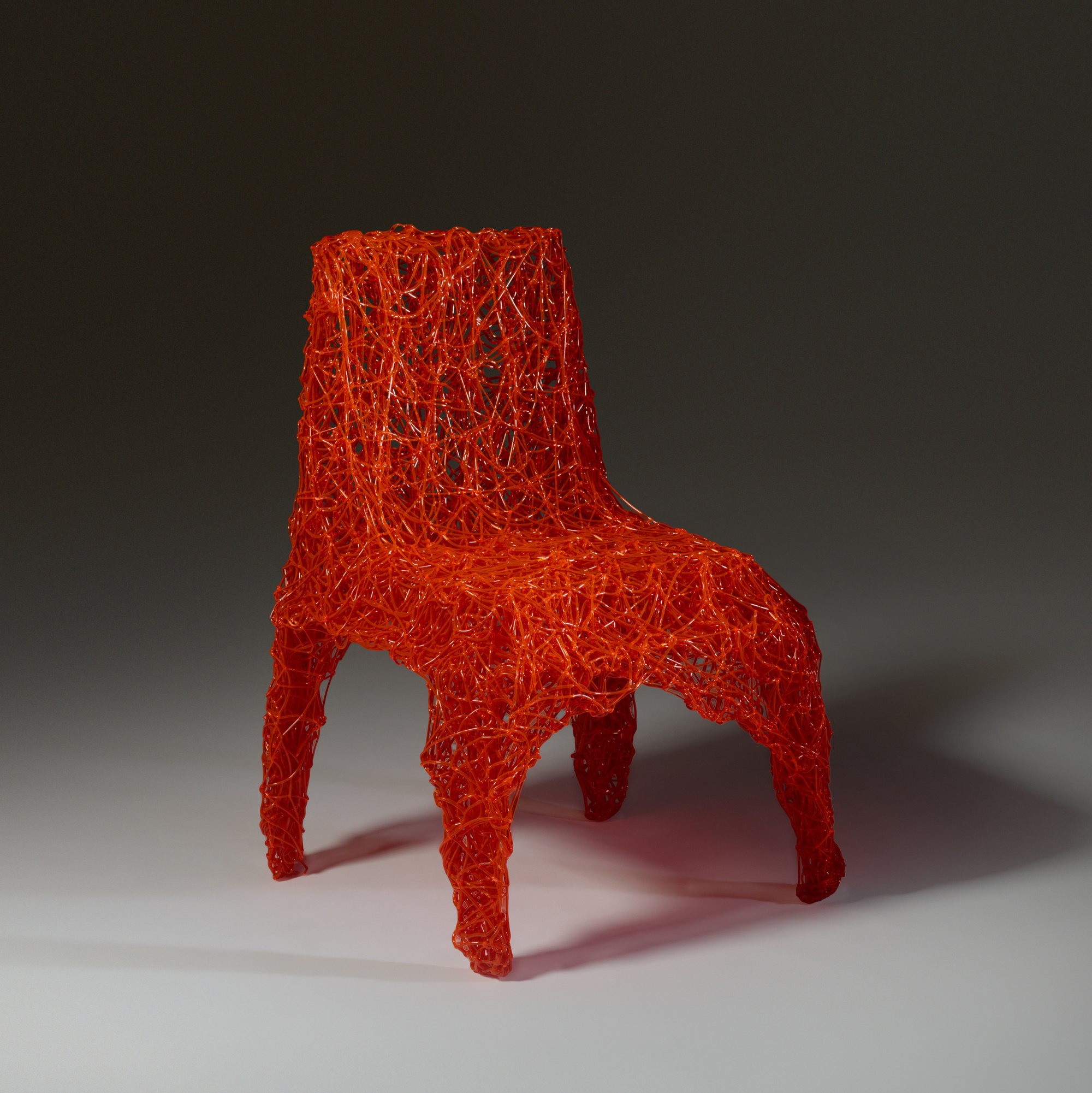 319: Tom Dixon / Extruded chair (1 of 4)