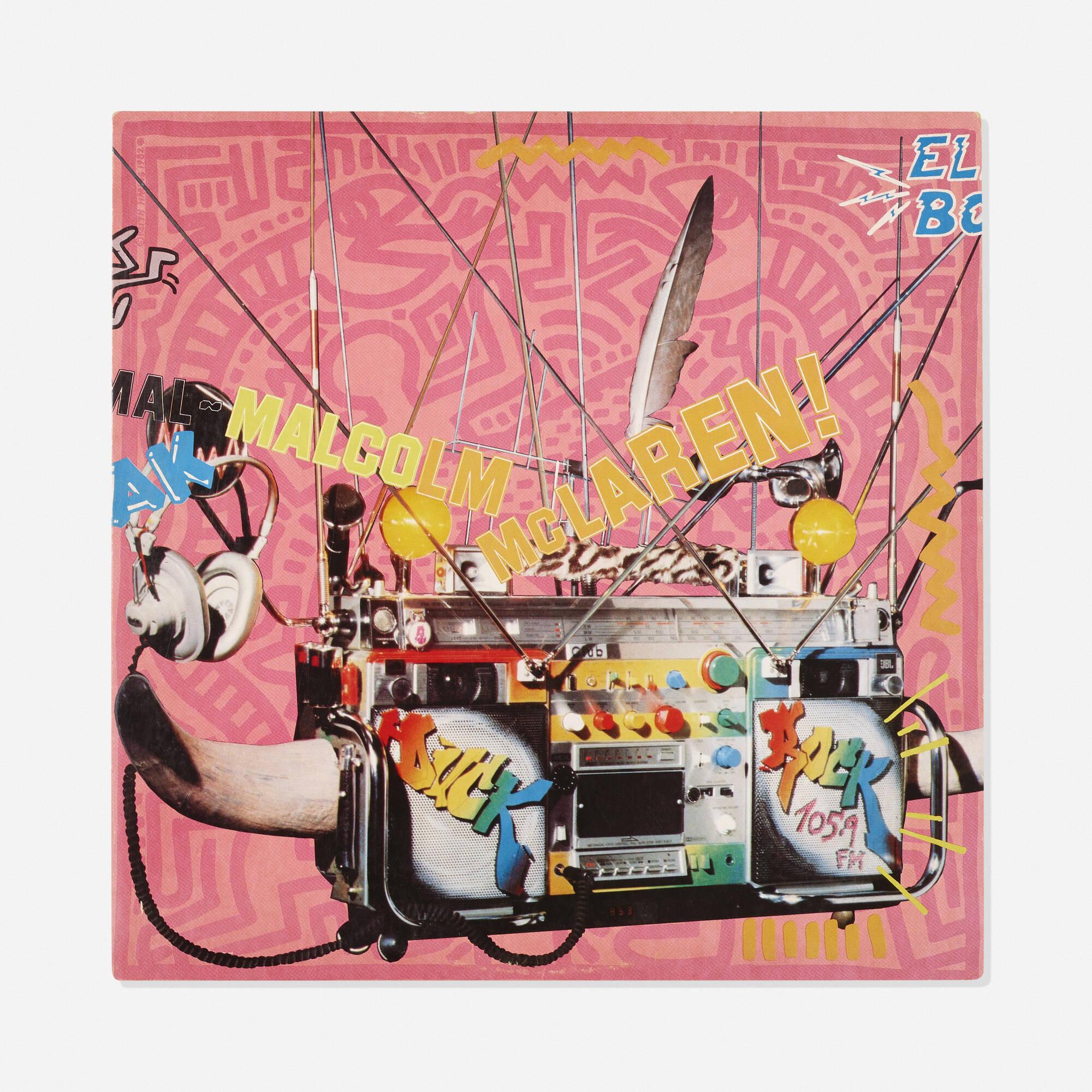 319: Keith Haring / Malcolm McLauren Duck Rock LP (1 of 1)