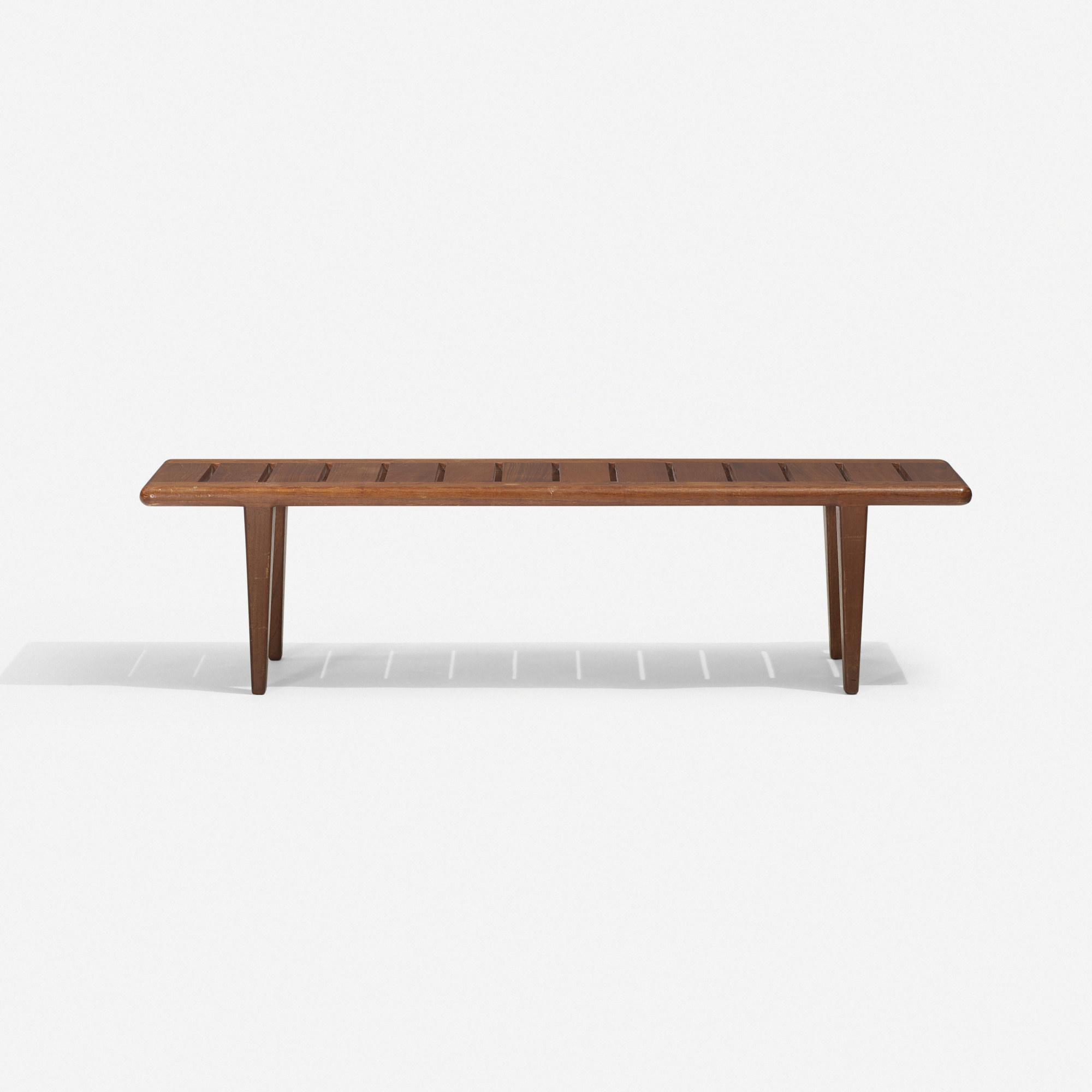 319: Hans J. Wegner / slatted bench (1 of 2)