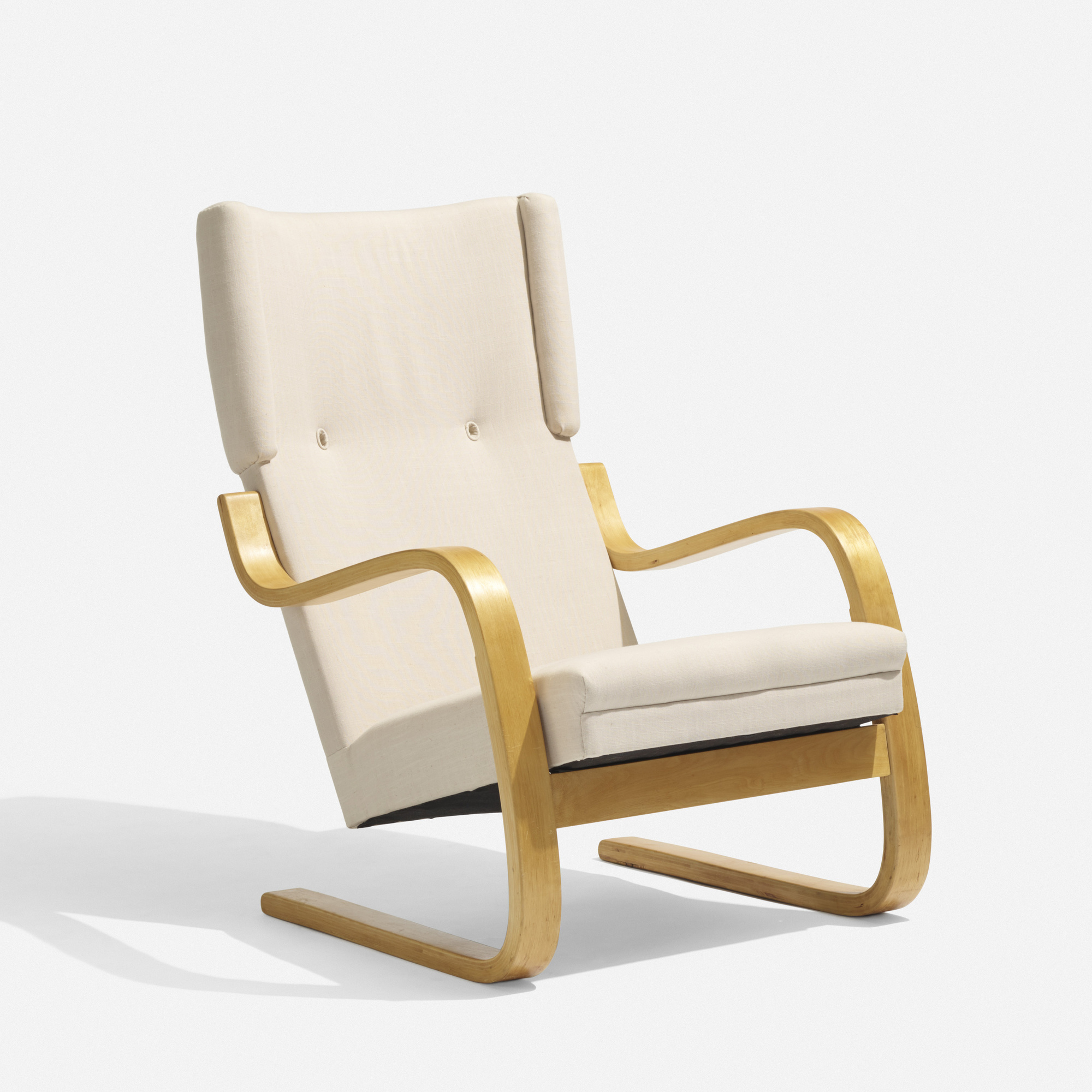 319: Alvar Aalto / Cantilevered Armchair, Model 36/401 (1 Of 3
