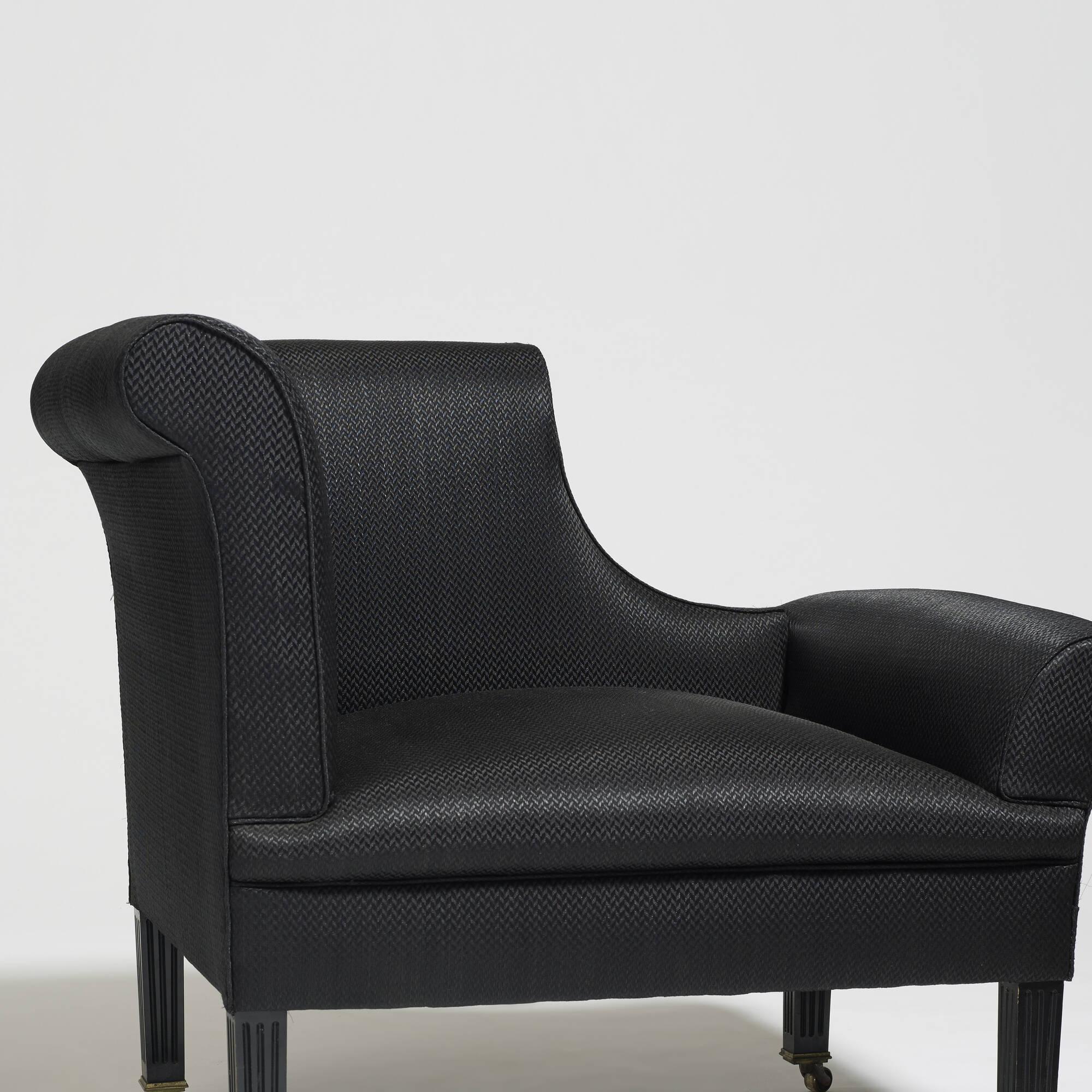 319: Sir Edwin Lutyens / Napoleon chairs, pair (3 of 3)
