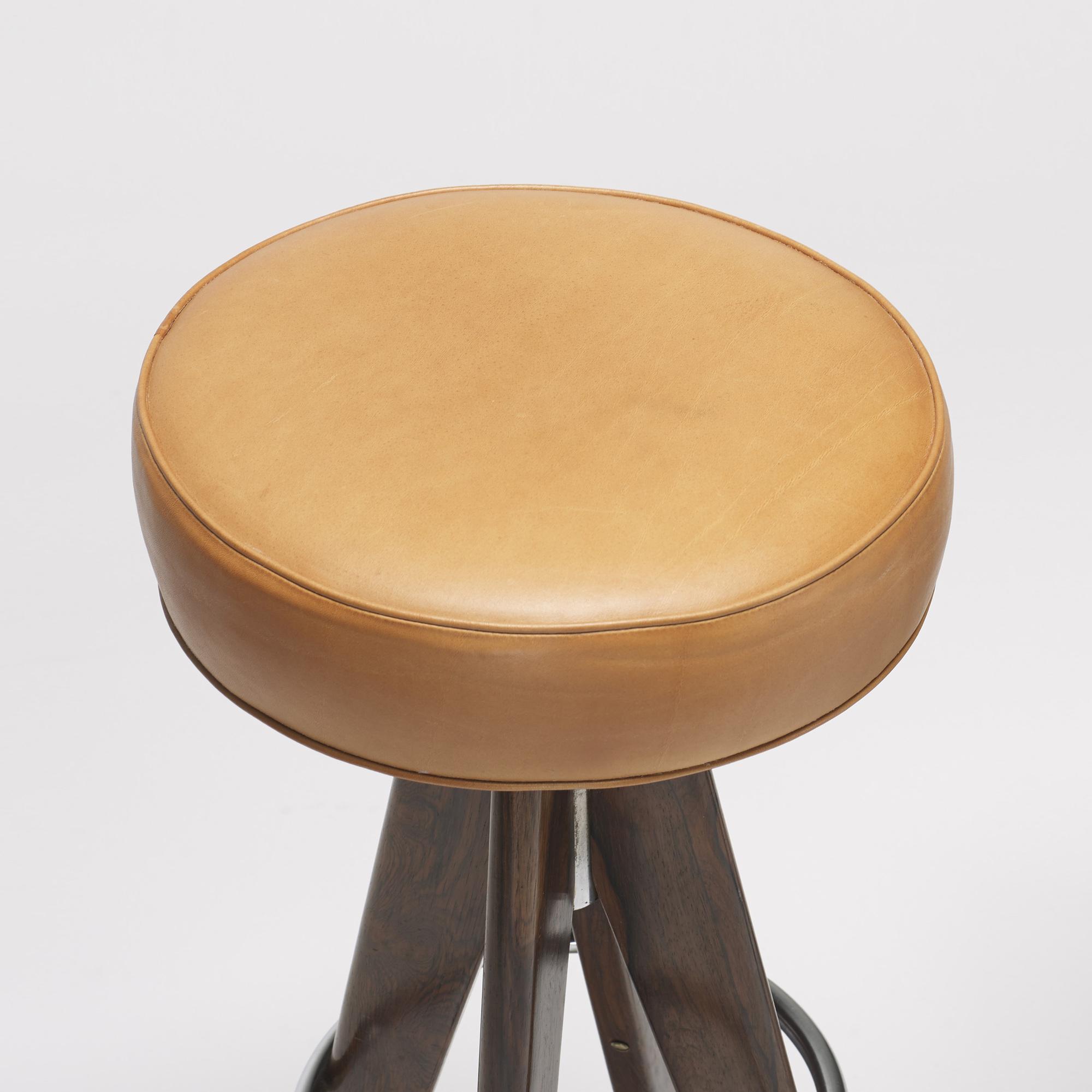 320: Arne Hovmand-Olsen / stools, pair (2 of 2)