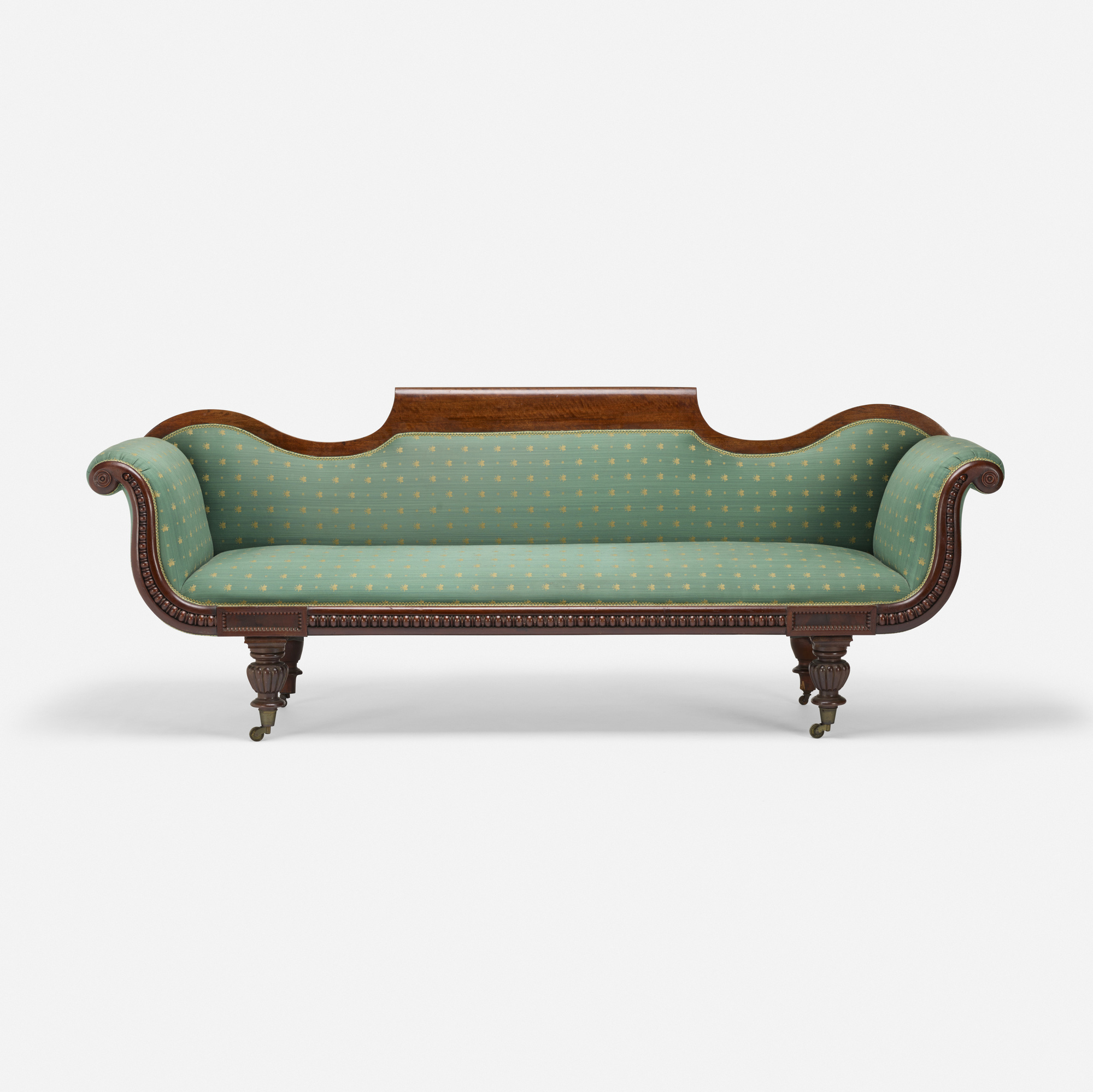 322: 19th Century / Gondola sofa (1 of 3)