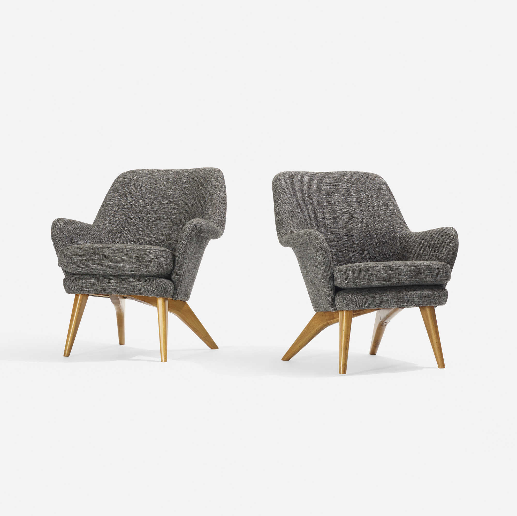 322: Carl-Gustav Hiort af Ornäs / armchairs, pair (2 of 2)