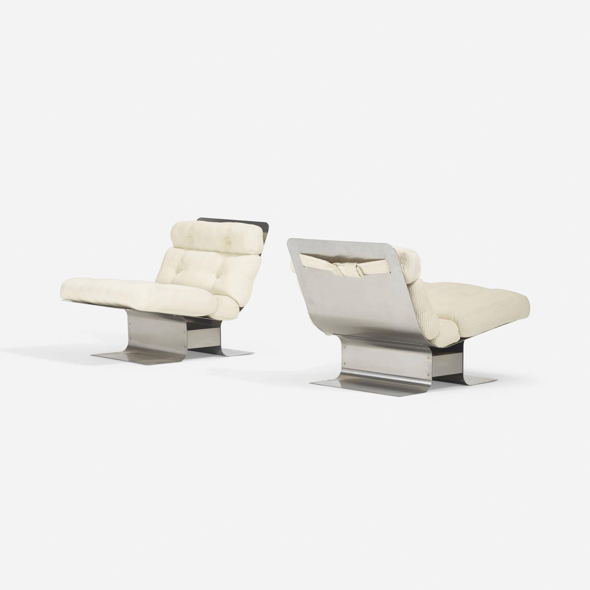 326: François Monnet / lounge chairs, pair (3 of 3)