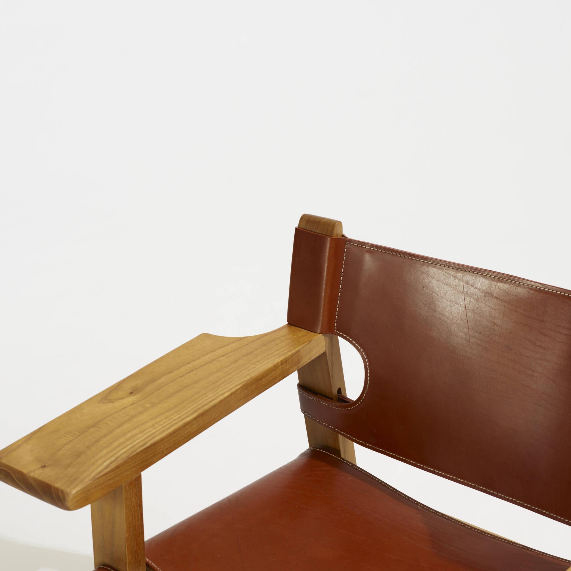 327: Børge Mogensen / Spanish chairs, pair (3 of 3)