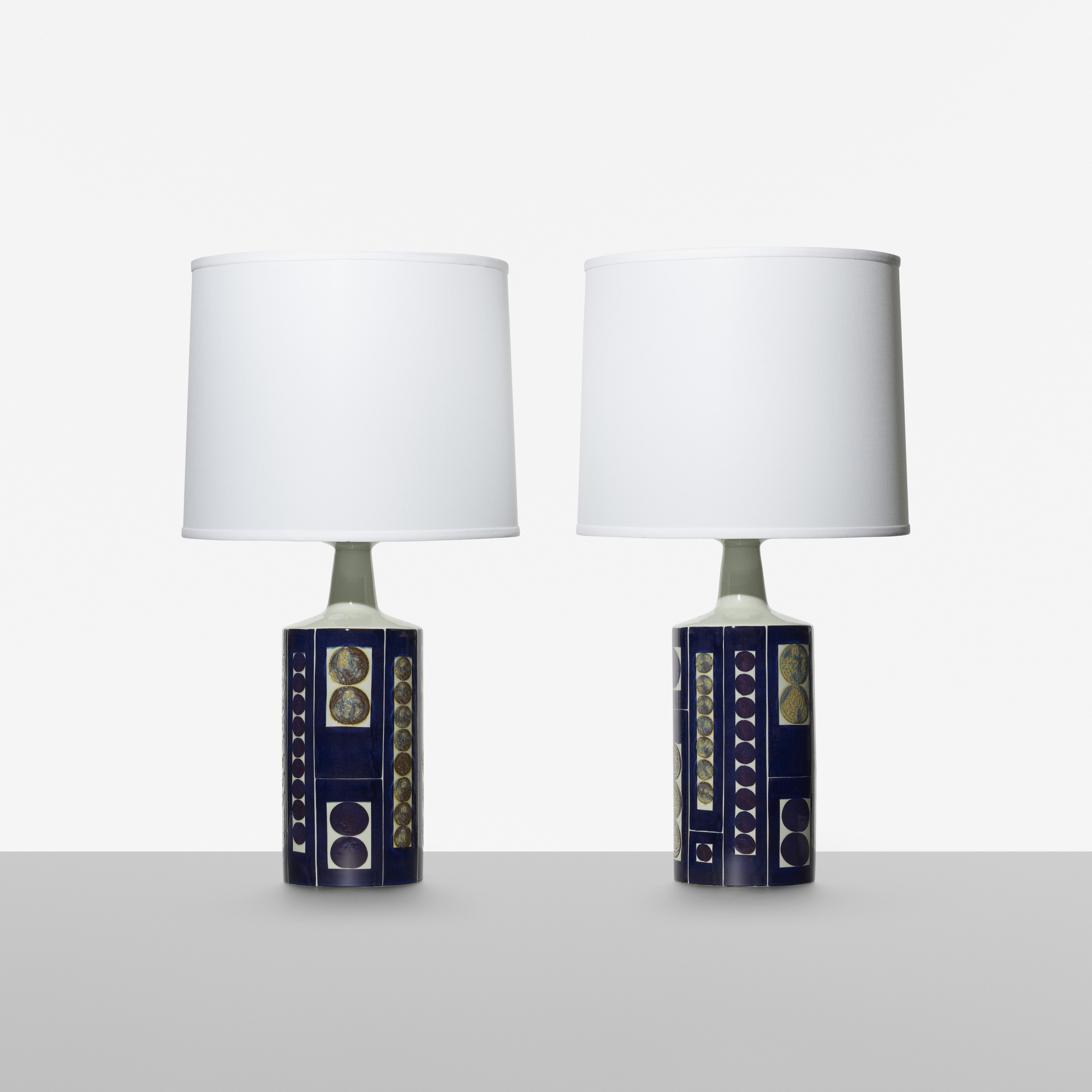 328: Fog & Mørup / table lamps, pair (1 of 2)