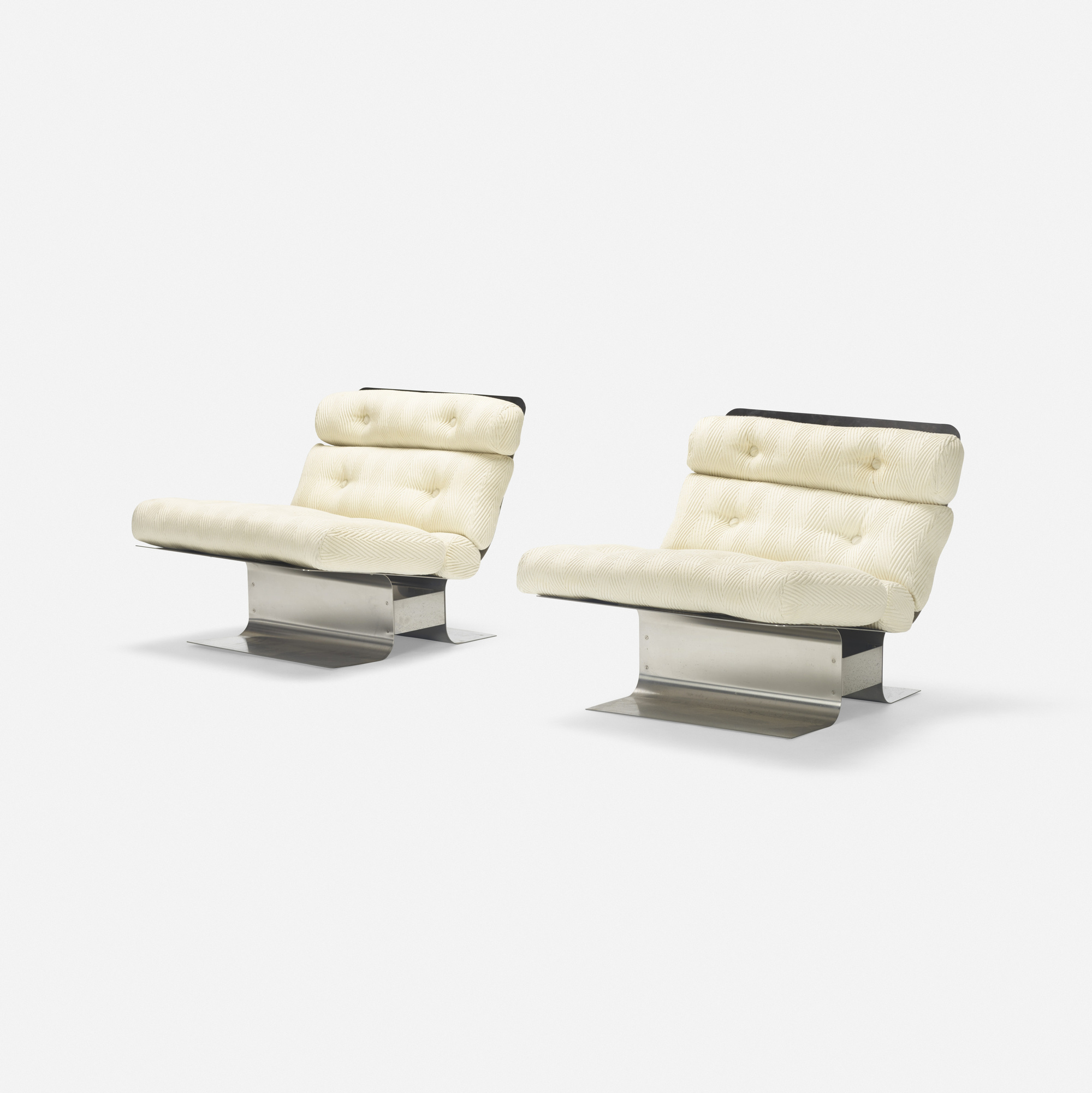 328: François Monnet / lounge chairs, pair (2 of 5)