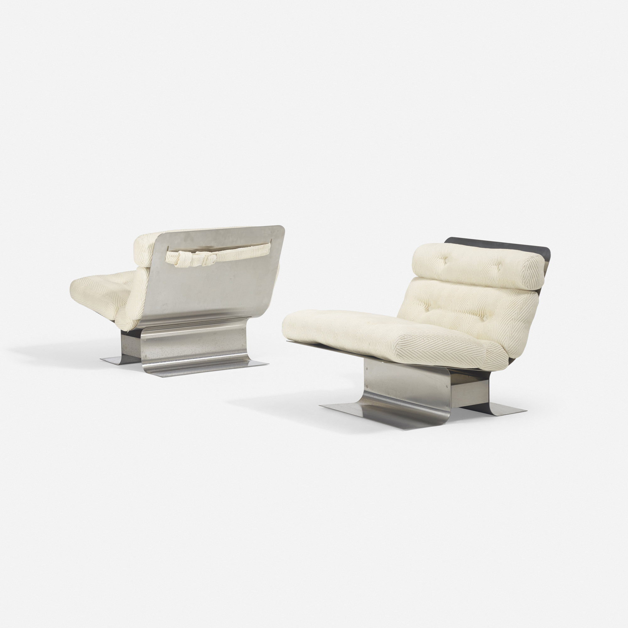 328: François Monnet / lounge chairs, pair (4 of 5)