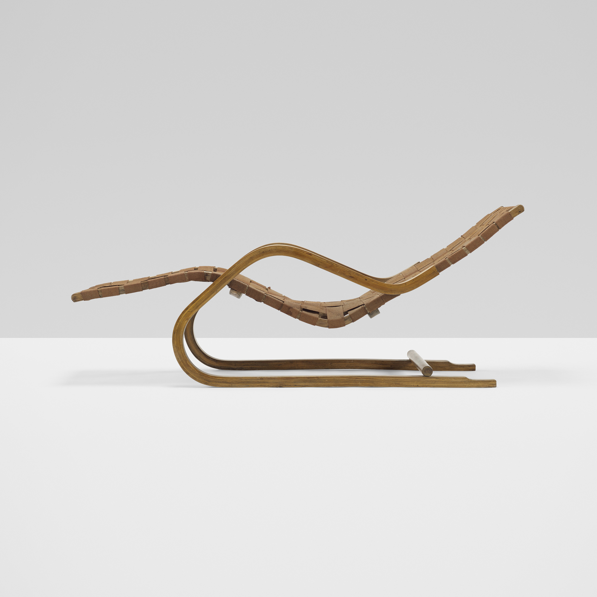 329 Alvar Aalto Cantilevered Chaise Model 39 1 Of 3