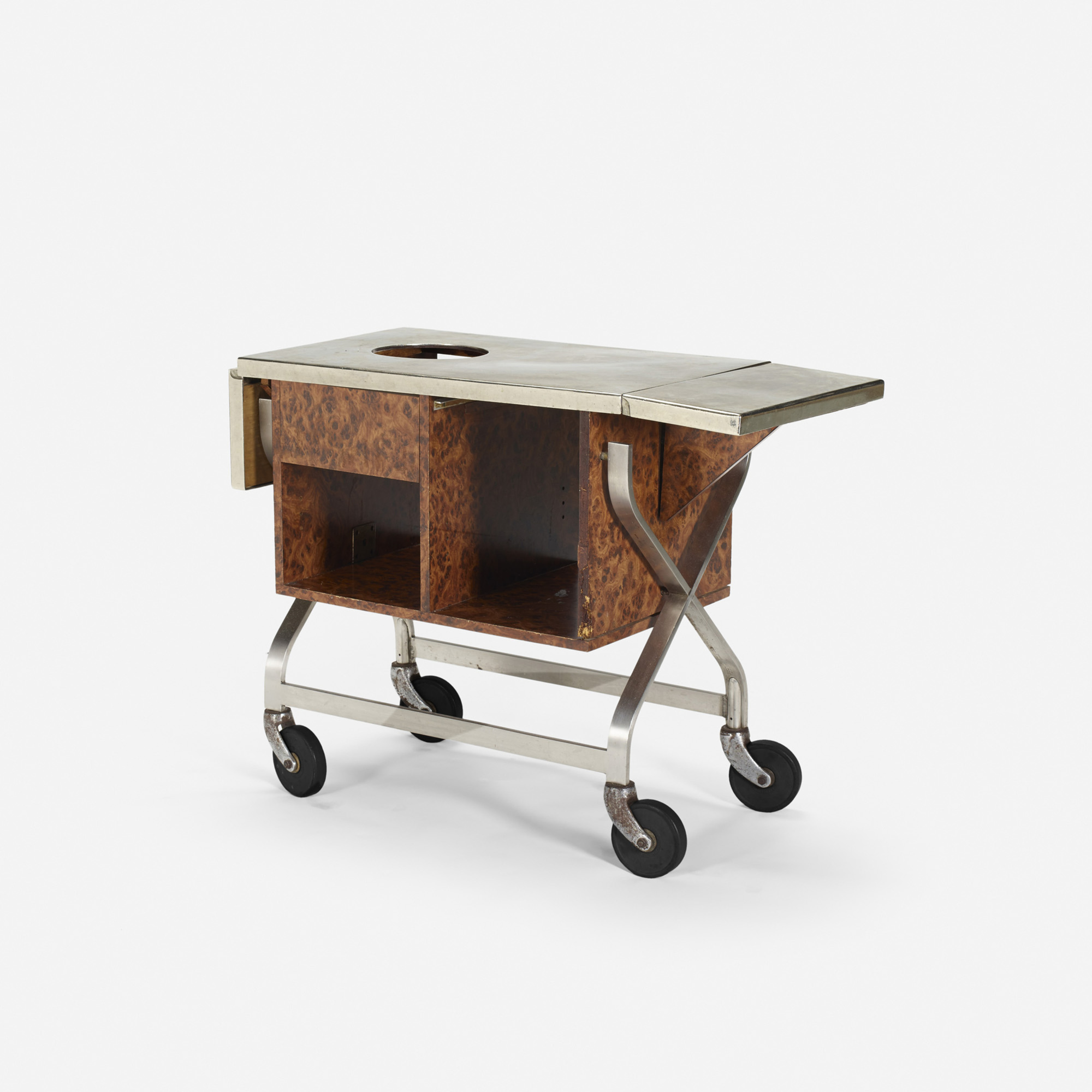 329: Garth and Ada Louise Huxtable / Serving cart from The Four Seasons (1 of 1)