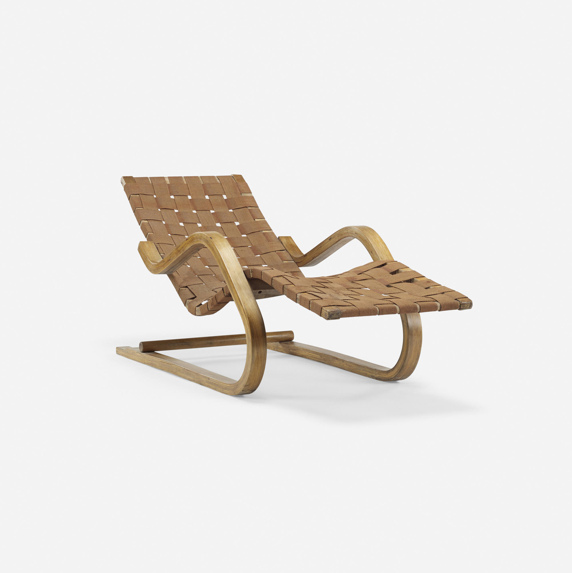 329 Alvar Aalto Cantilevered Chaise Model 39 2 Of 3