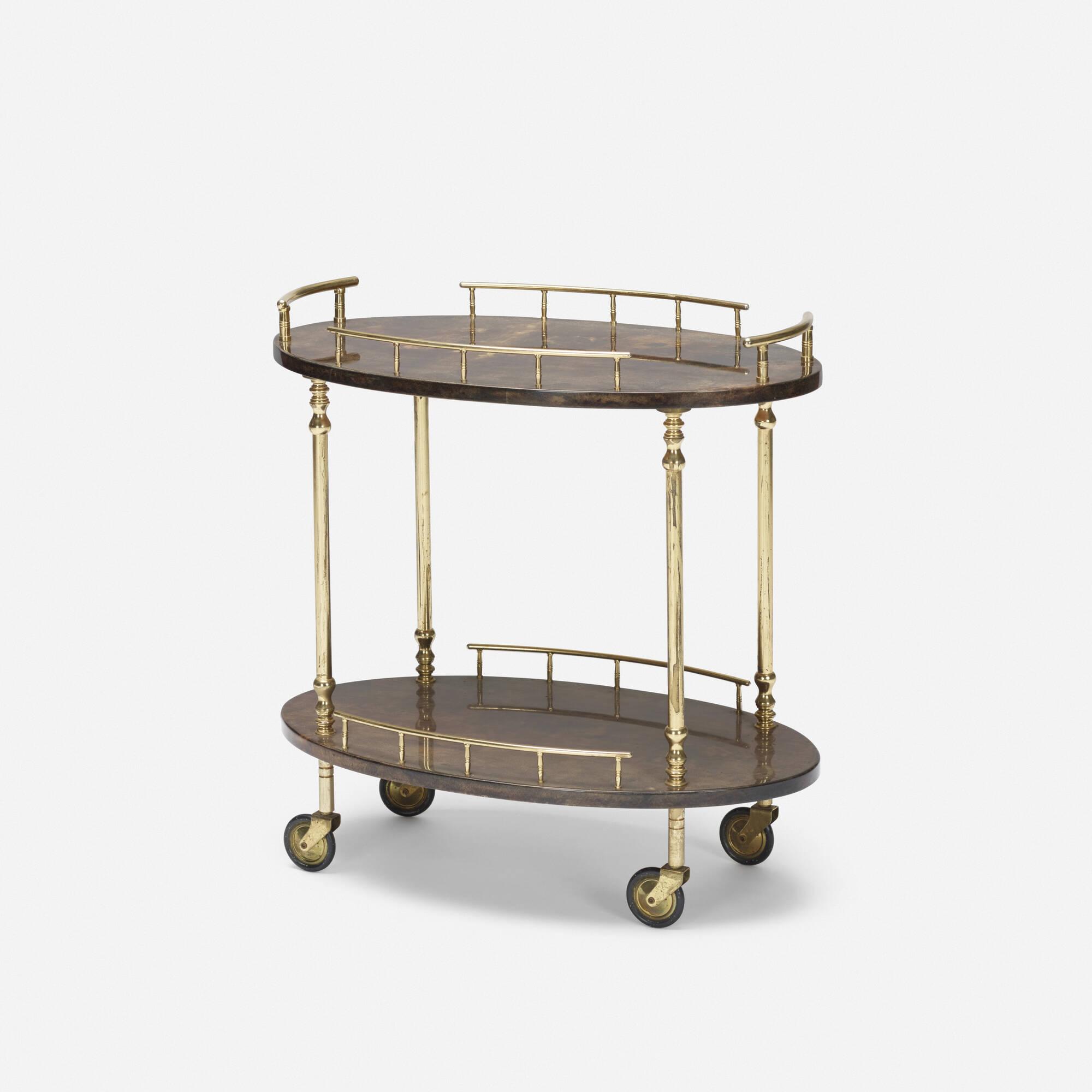 329: Aldo Tura / tea cart (1 of 1)