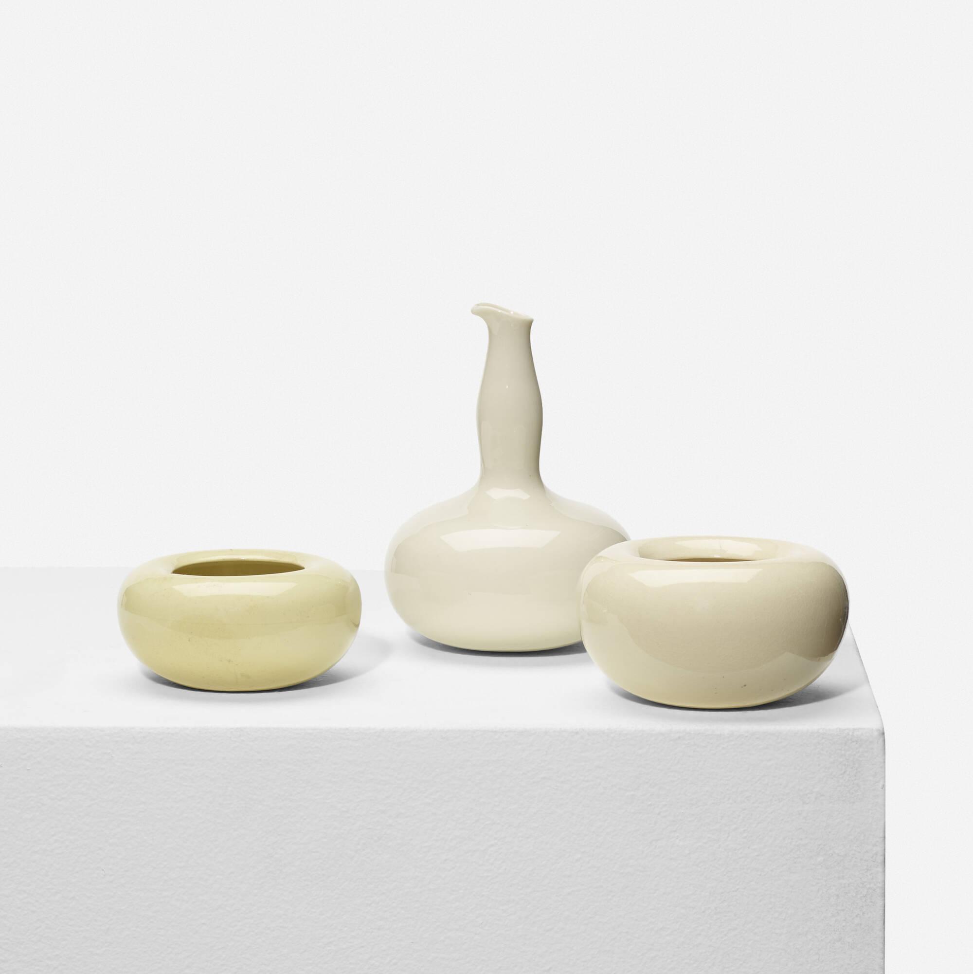 330: Eva Zeisel / condiment set (1 of 2)