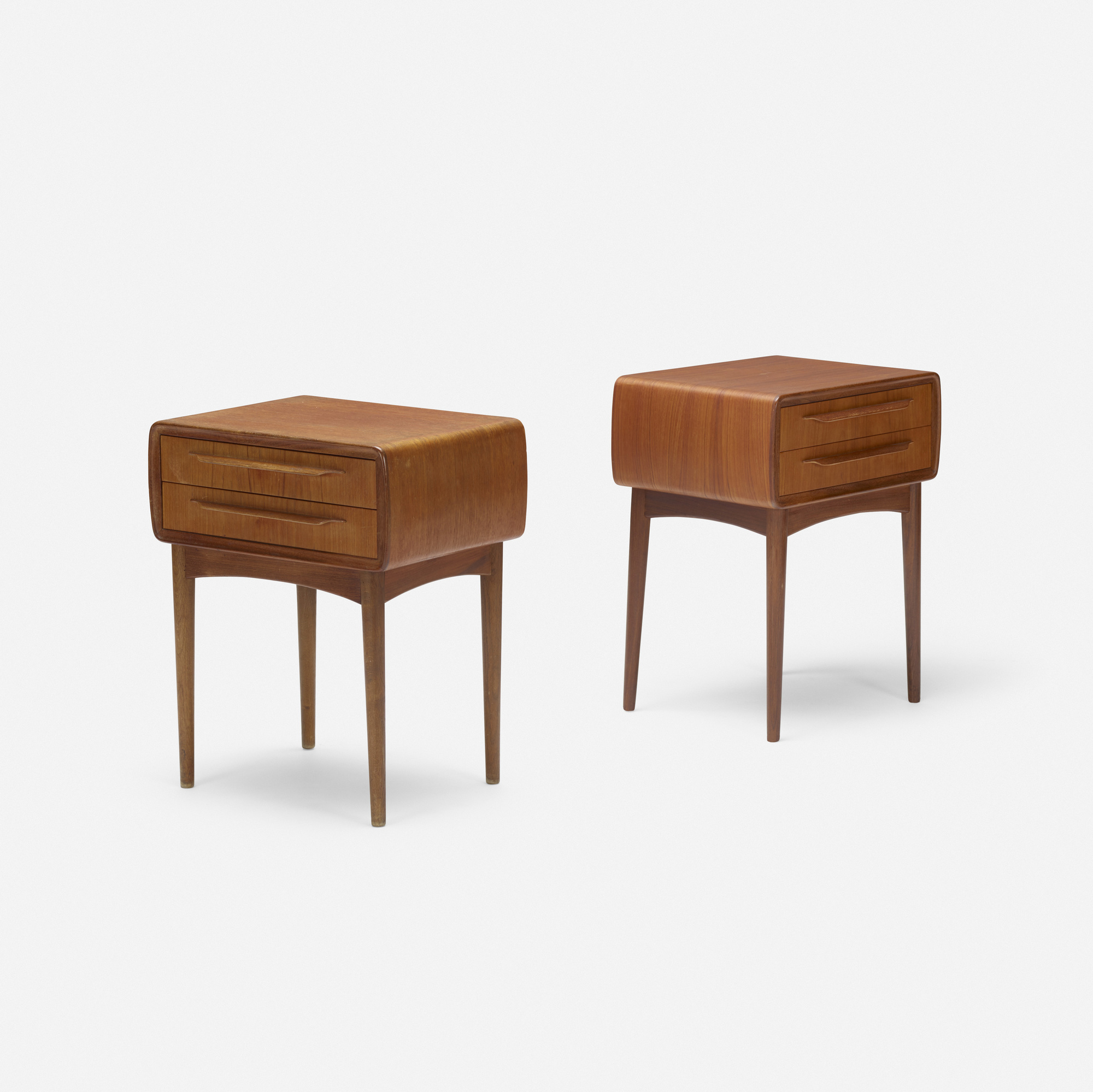 331: Johannes Andersen / nightstands, pair (1 of 3)